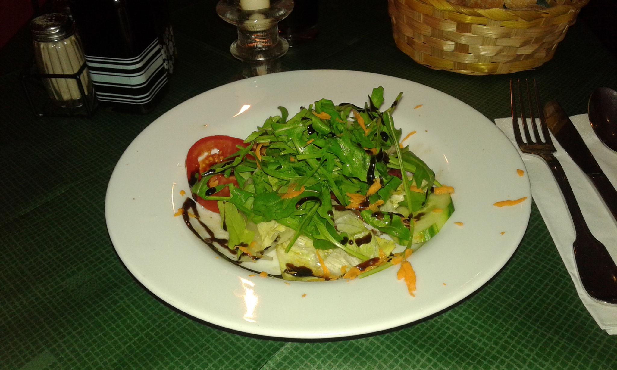 Mittagstisch Trattoria 500 - Vorspeise - Salateller
