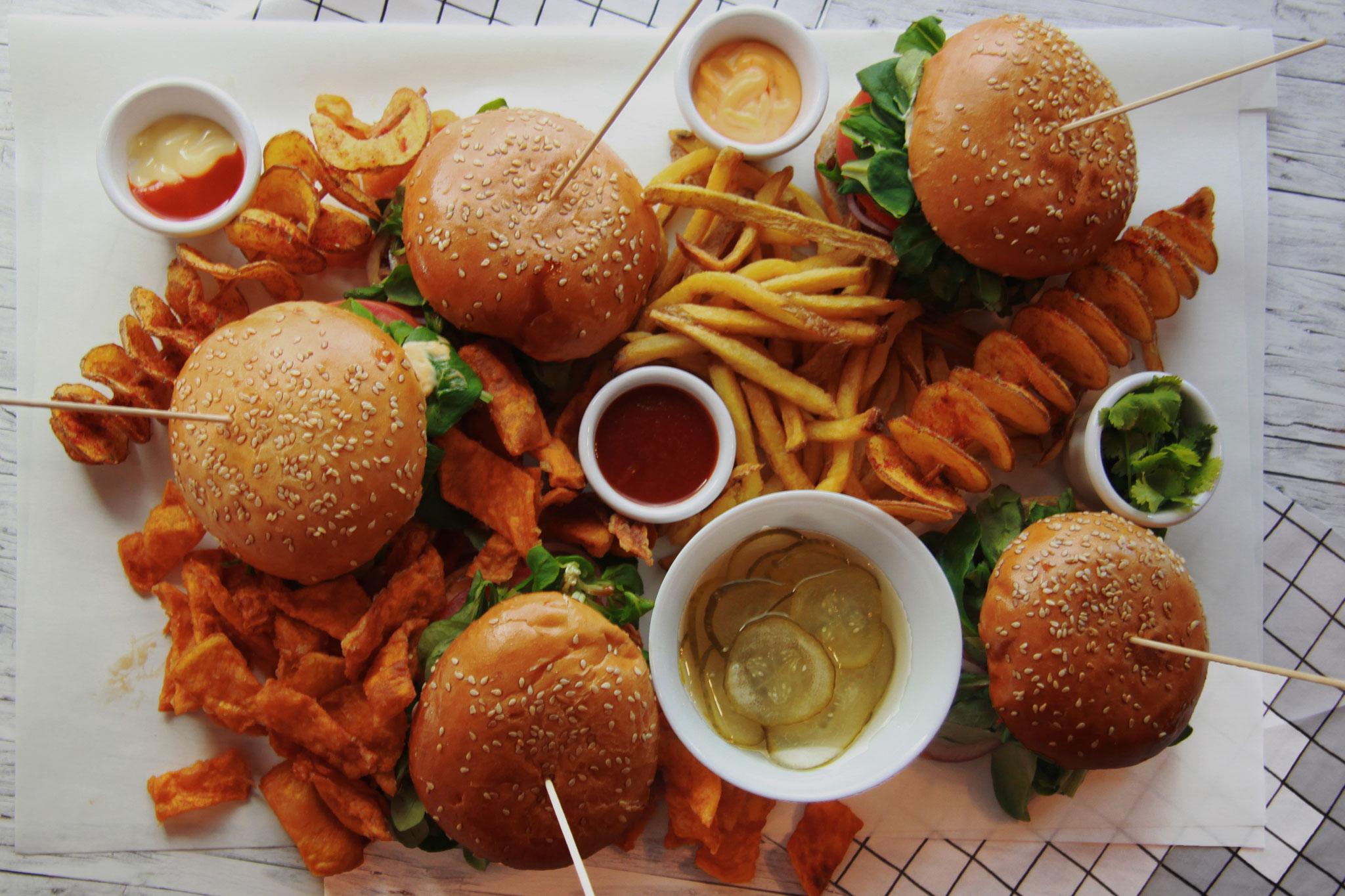 Mizuna Burger - Japanese Burger in der Davidstraße 30 in Hamburg St. Pauli