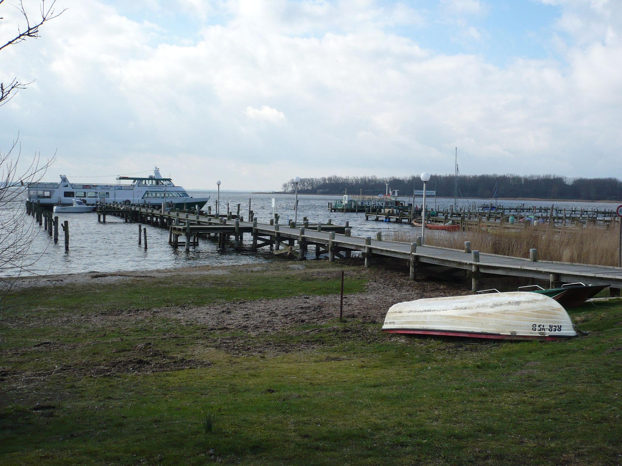 Hafen Anlegestellen rerik