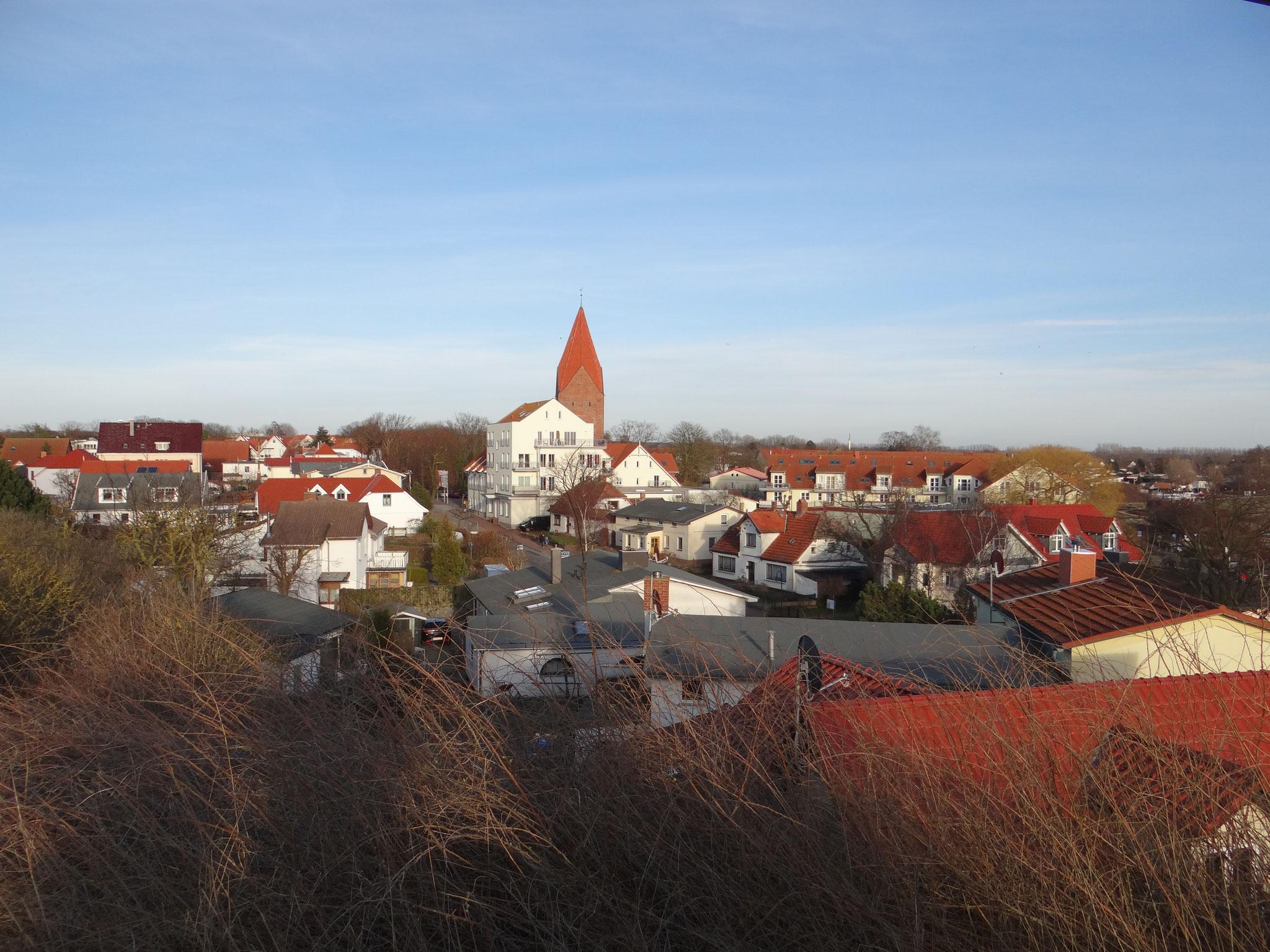 Aussicht Schmiedeberg Zentrum Rerik