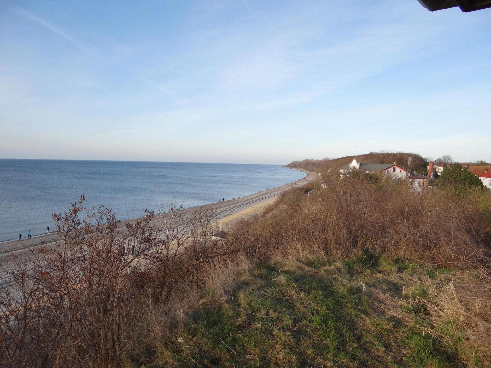 Aussicht Schmiedeberg Strandpromenade