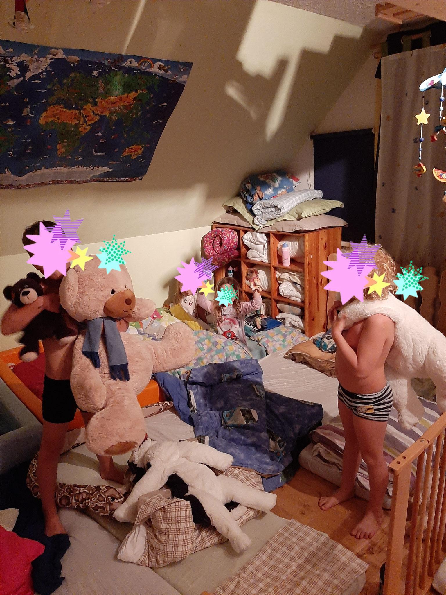 Kinderstubenübernachtung für die Einschulungskinder