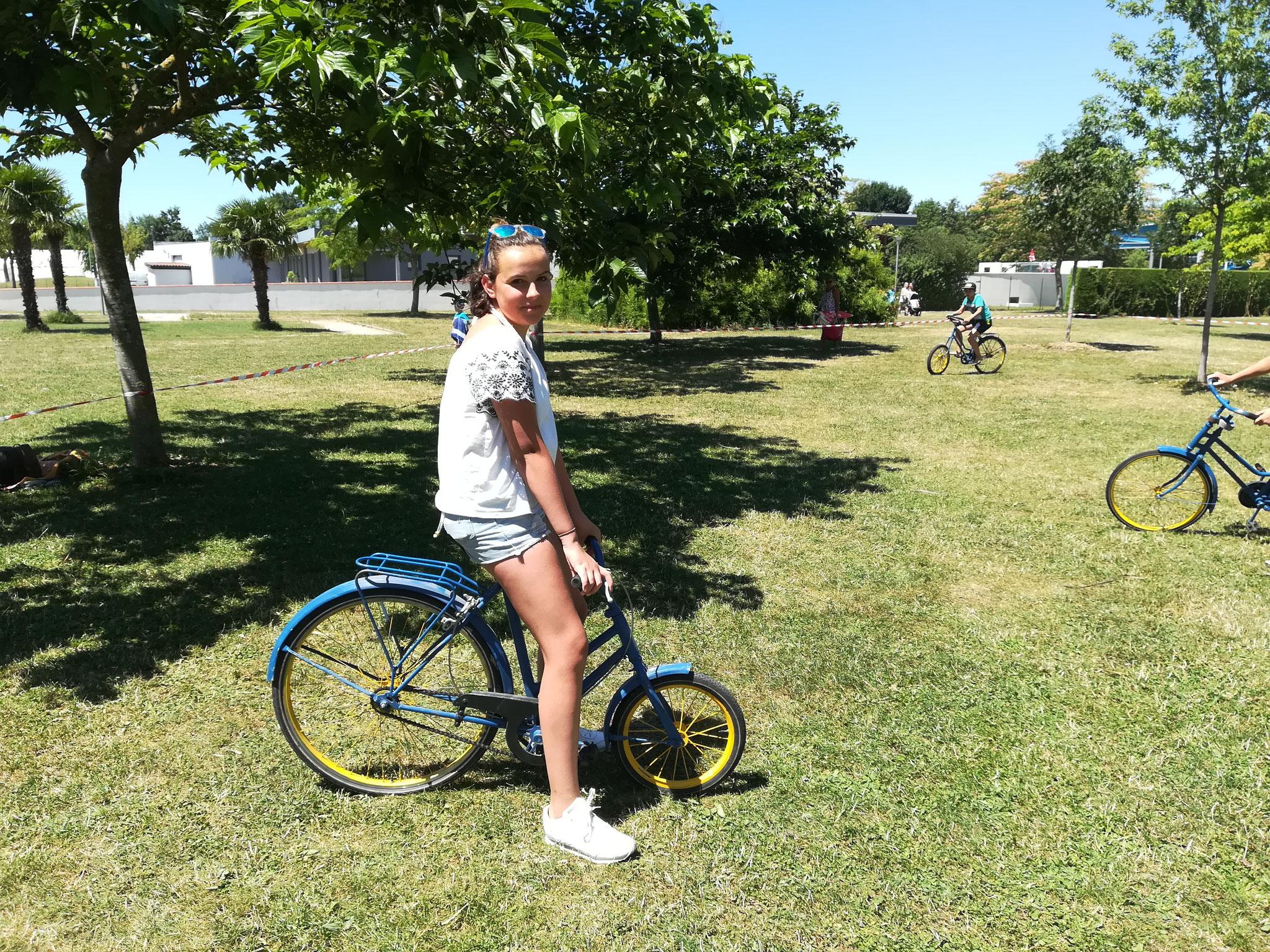 vélo rigolo - mini camp plaine tonique