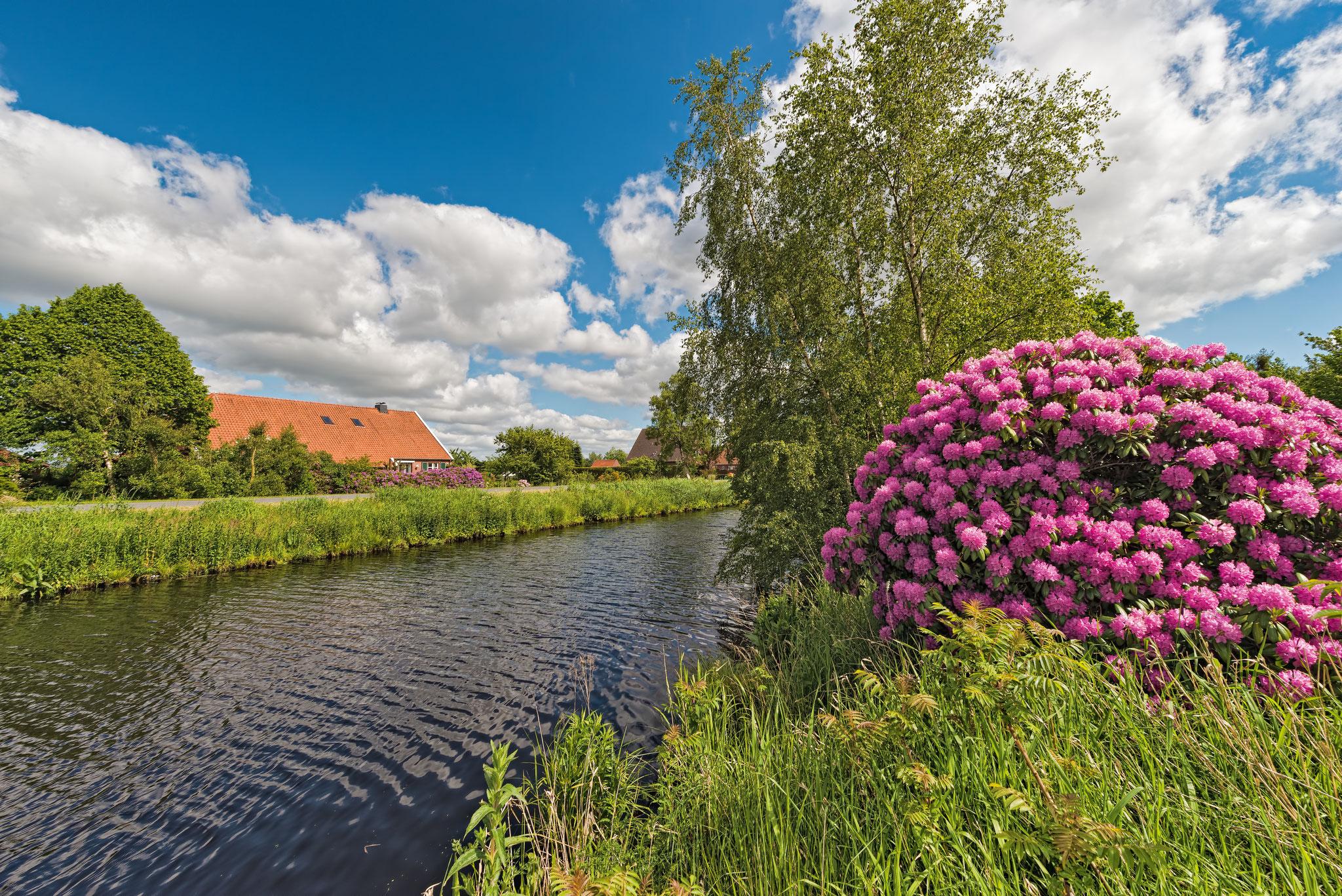Ems-Jade-Kanal Wiesmoor Ostfriesland