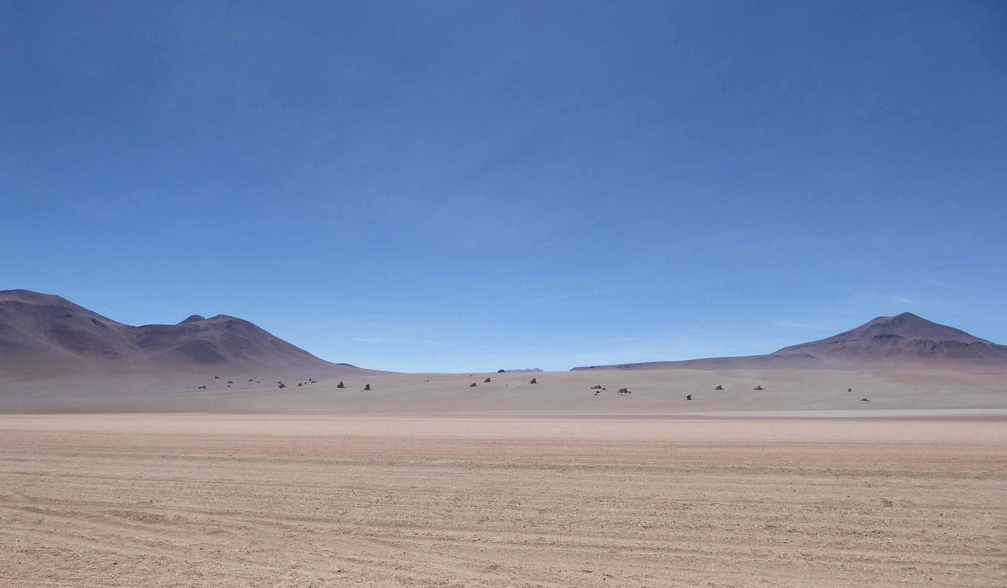 Le très célèbre désert de Dali