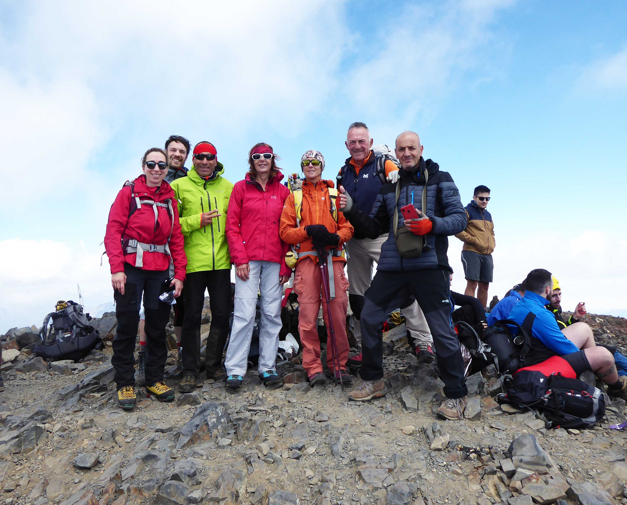 Au fait du second sommet des Pyrénées