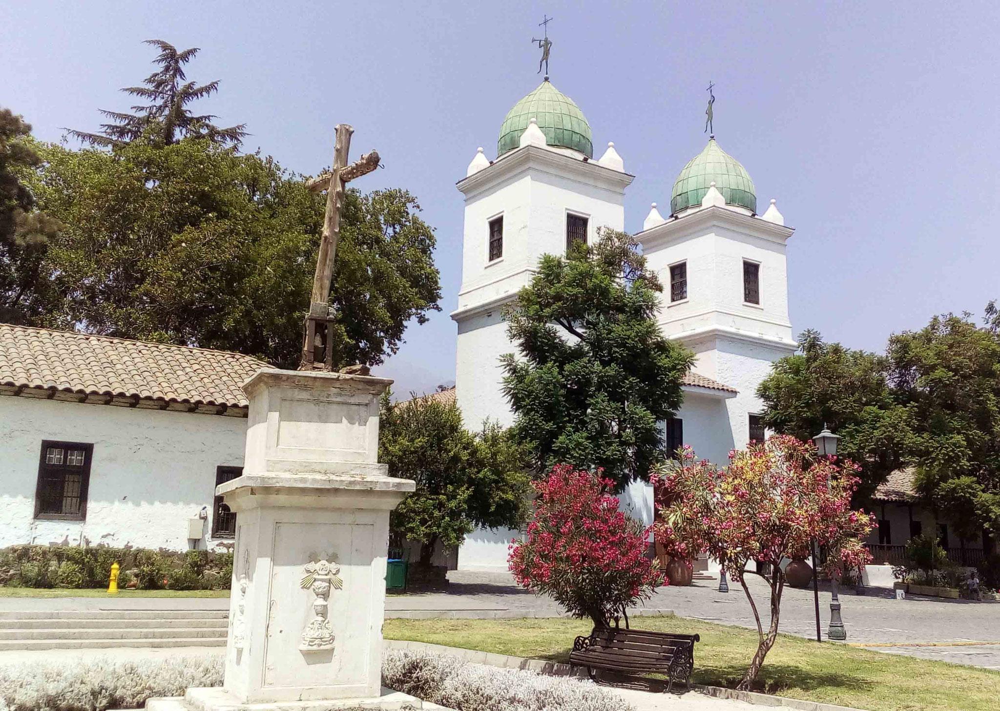 Las Condes touristique, la Iglesia Los Dominicos