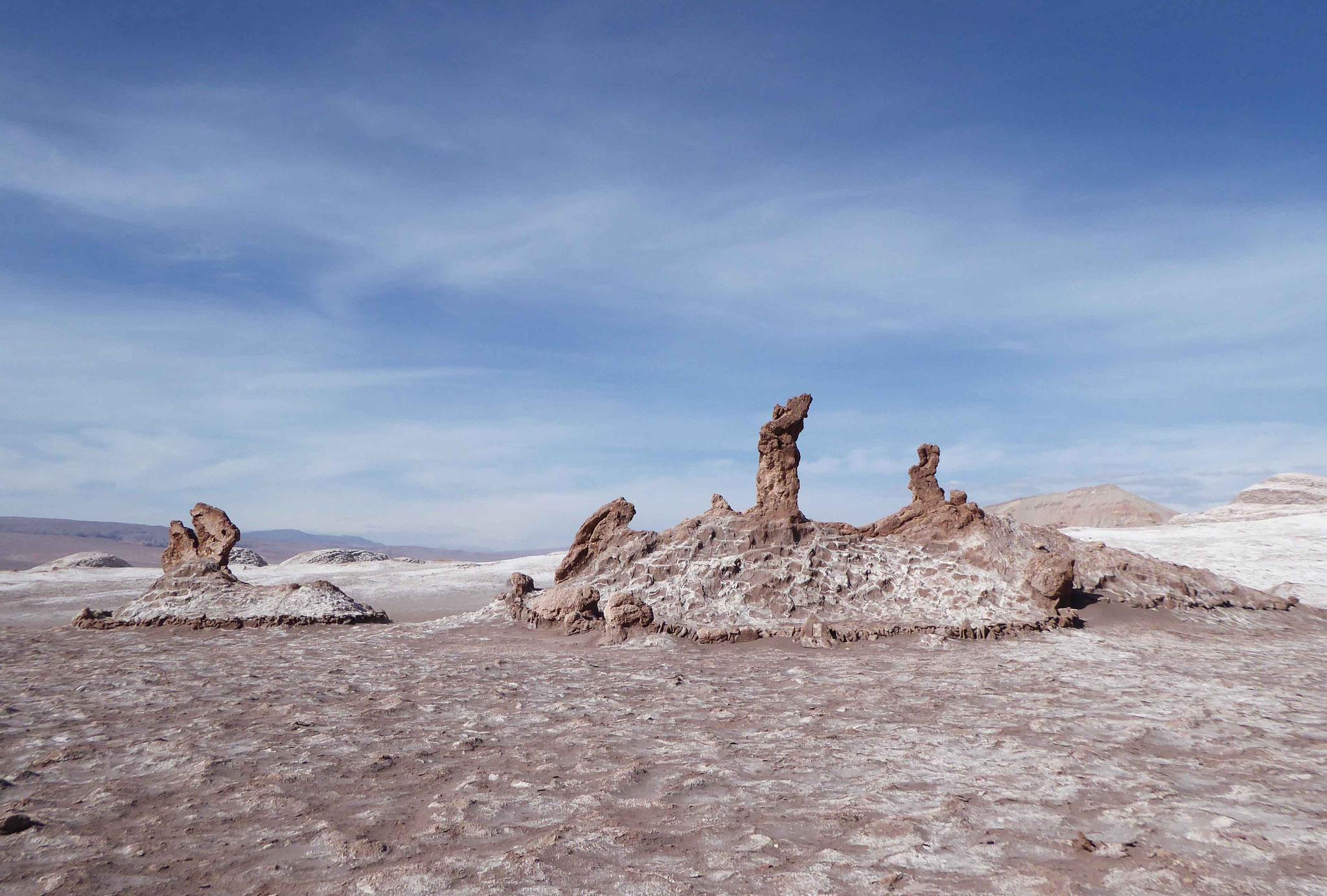 Les 3 Vierges de pierre façonnées par le vent