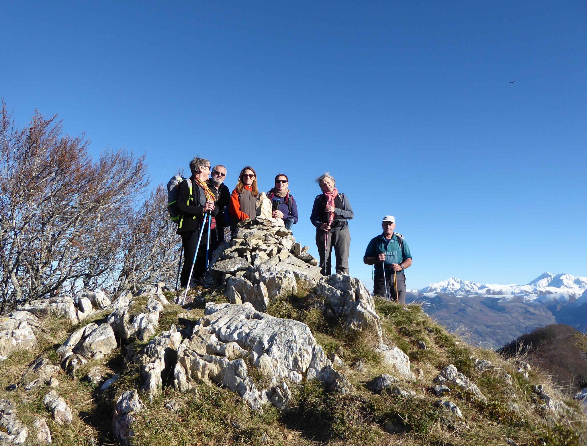 Sur le soum de la Péne (1616 m)