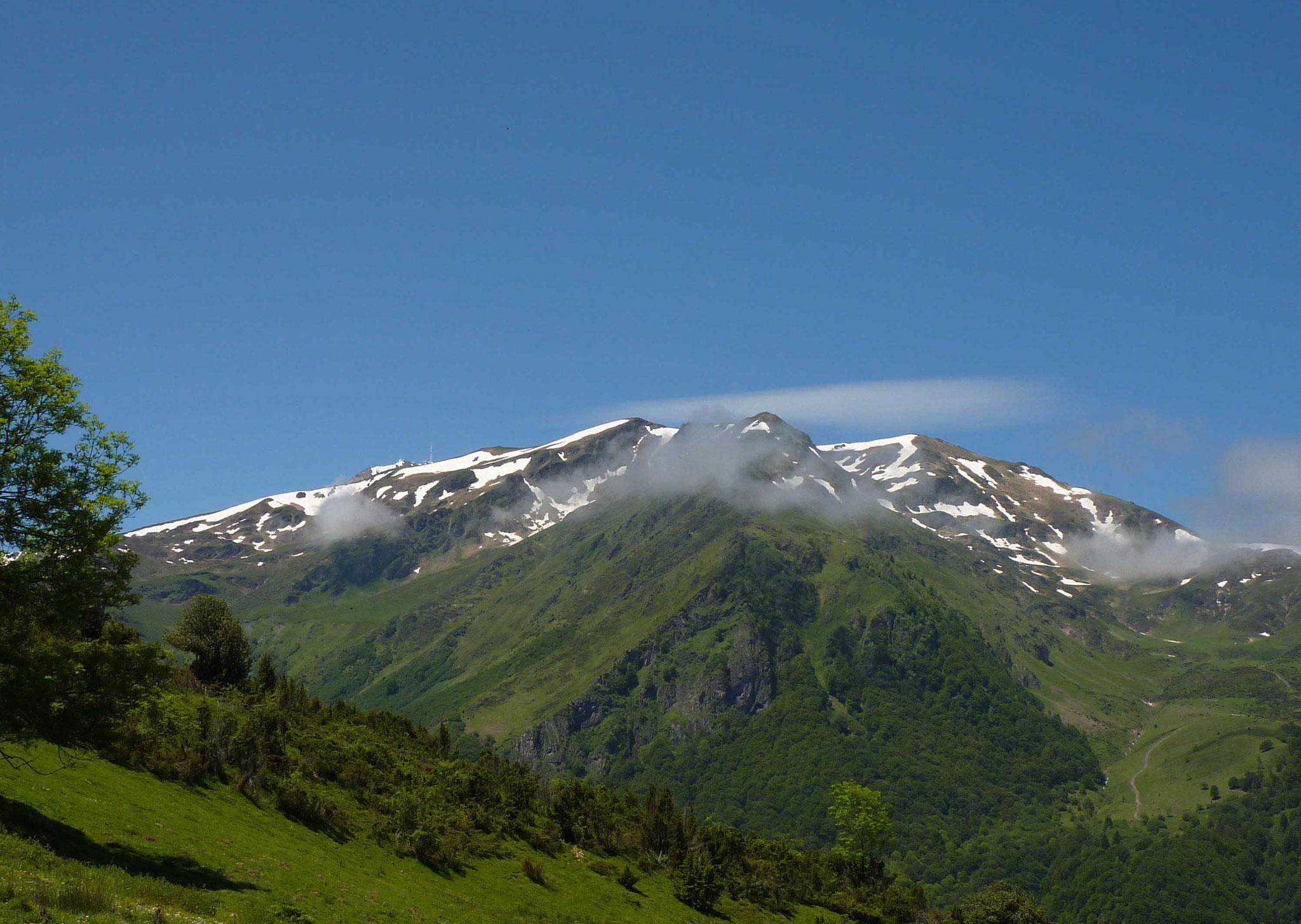 Les sommets avoisinant le pic du Midi de Bigorre