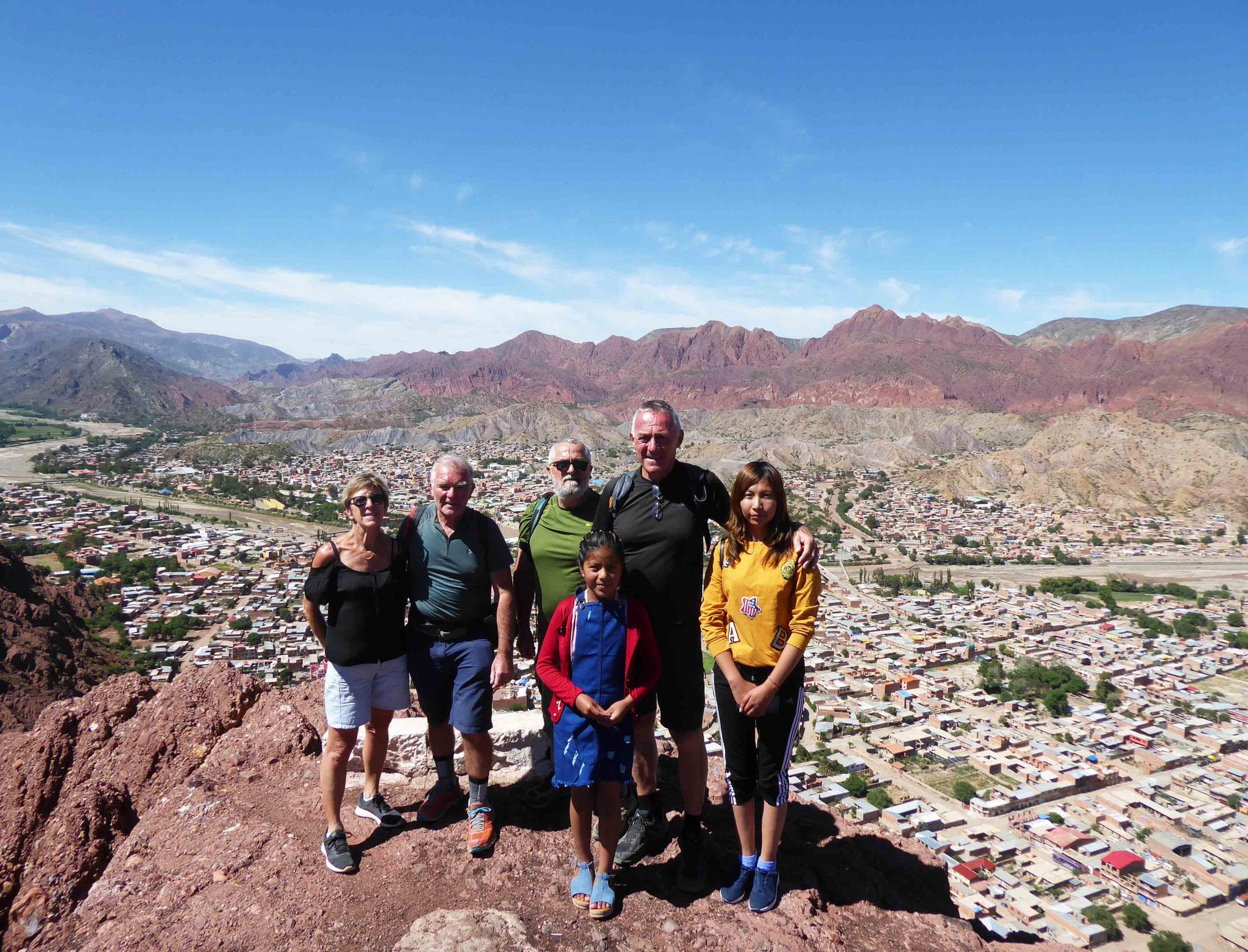 """Tupiza, la """"joya bella de Bolivia"""" depuis le cerro la Cruz (3085 m)"""