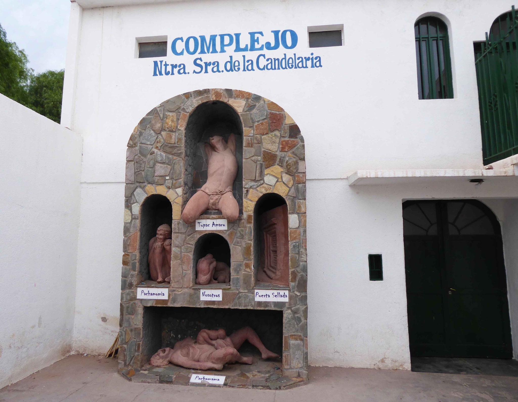 Monument dédié à la Pachamama (Terre-Mère) et à la révolte des Incas (Tupac Amaru)