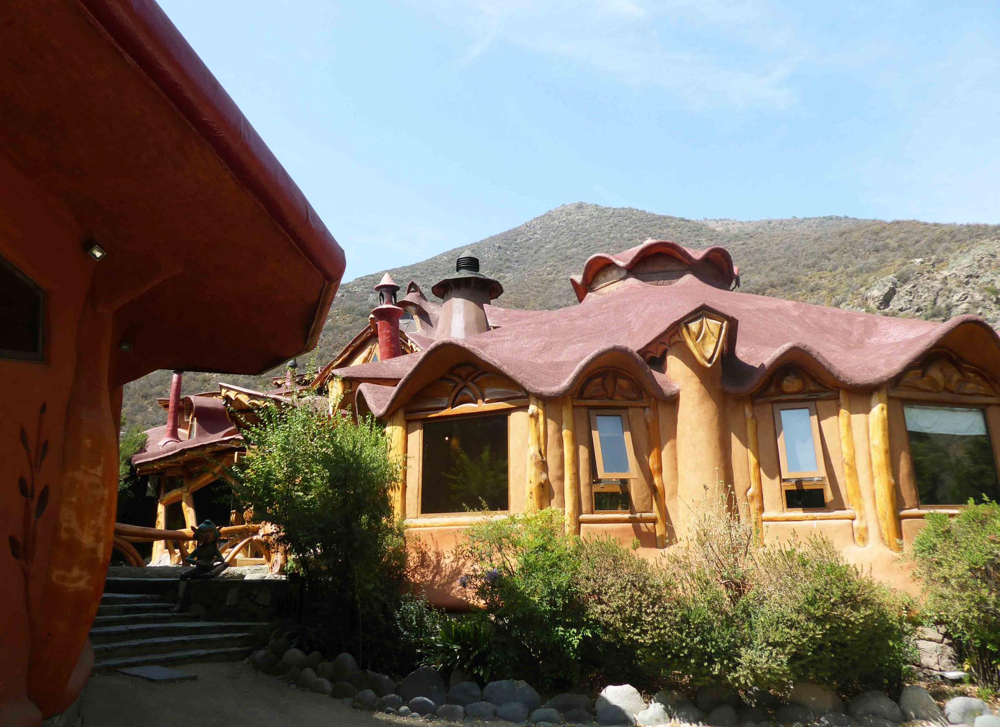 Bel et original hôtel-restaurant Casa Bosque tout près du rio Maipo