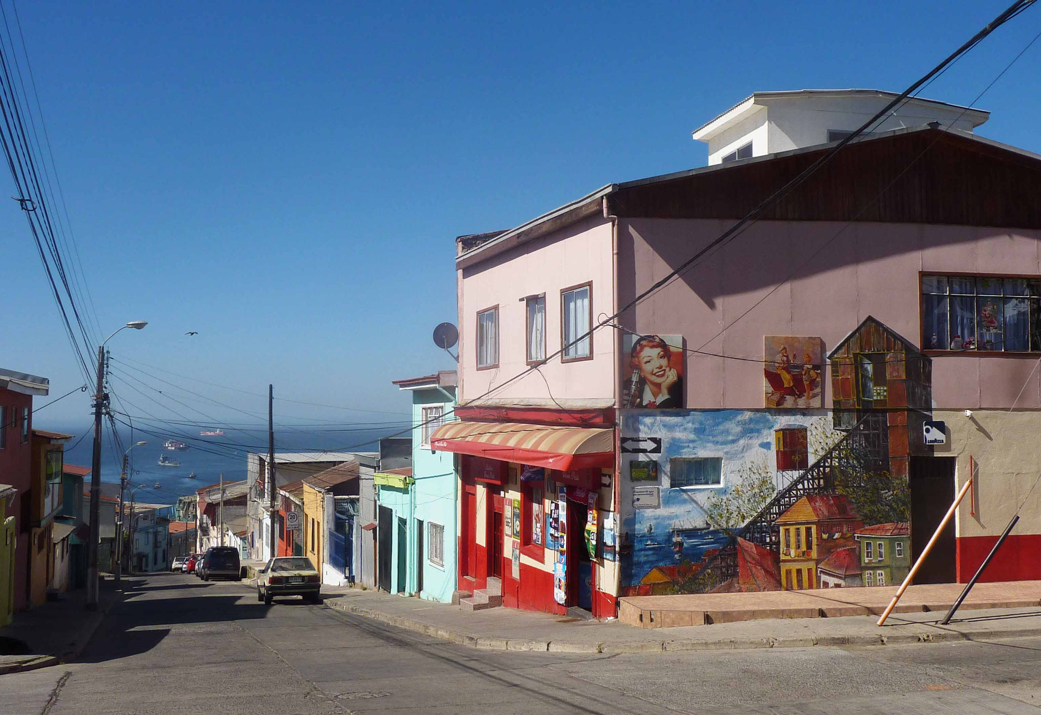 La rue Ferrari, rue des poètes (F. Garcia Lorca, P. Neruda...)