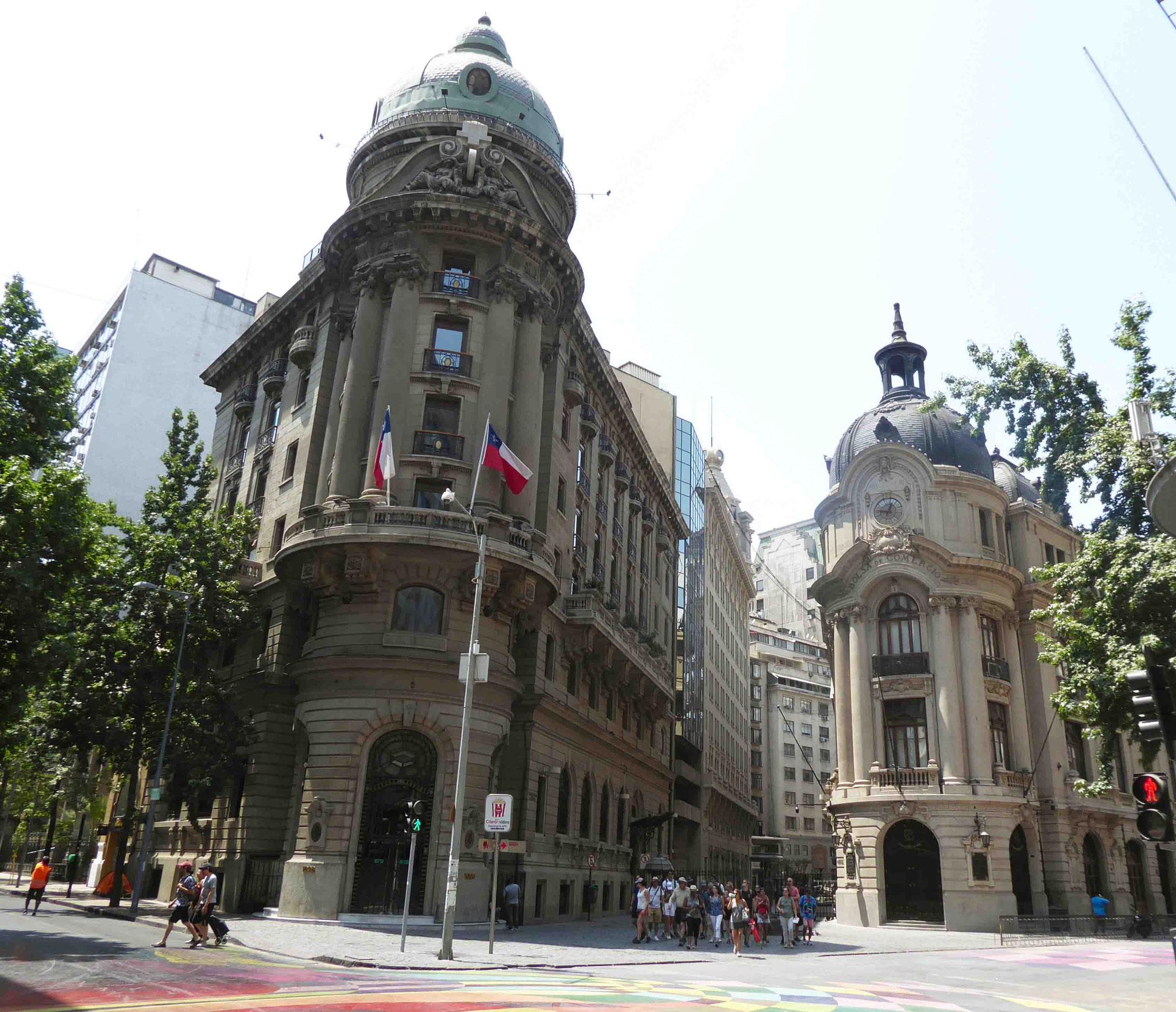 Architecture remarquable au coeur de Santiago
