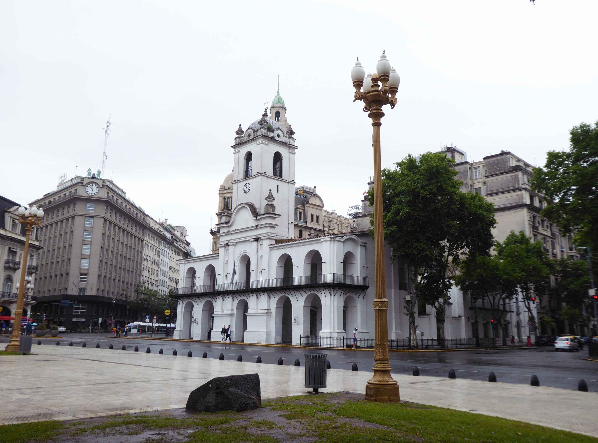 Le cabildo (mairie de 1610 à 1821) de la place de Mai