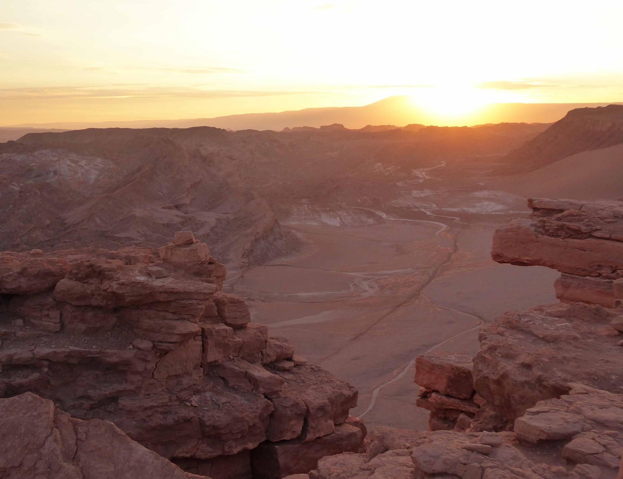 Le soleil va disparaître à la piedra del coyote
