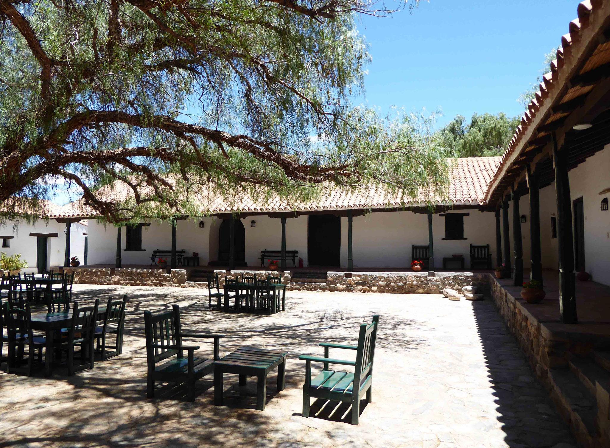 Une hacienda au milieu de nulle part