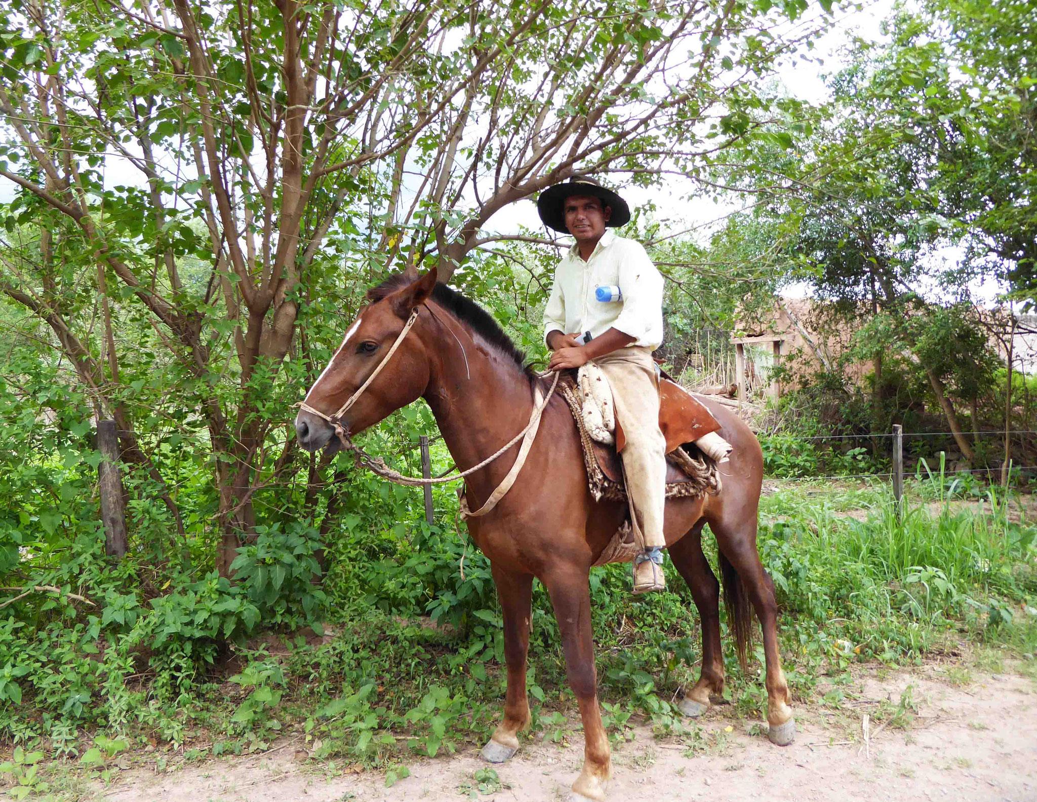 Le gaucho dans la plus pure tradition argentine