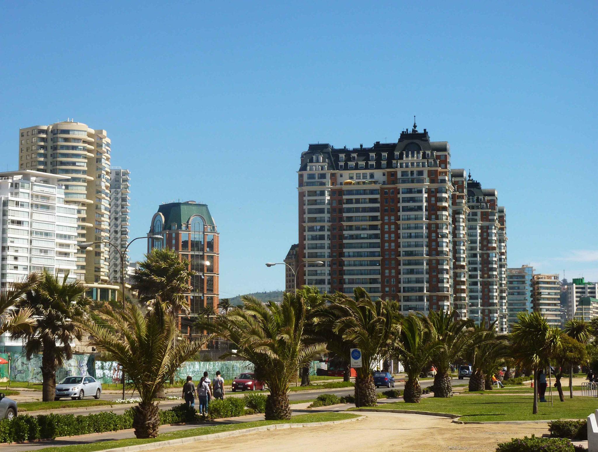 Des airs de Côte d'Azur pour cette ville préférée des Santiaguinos
