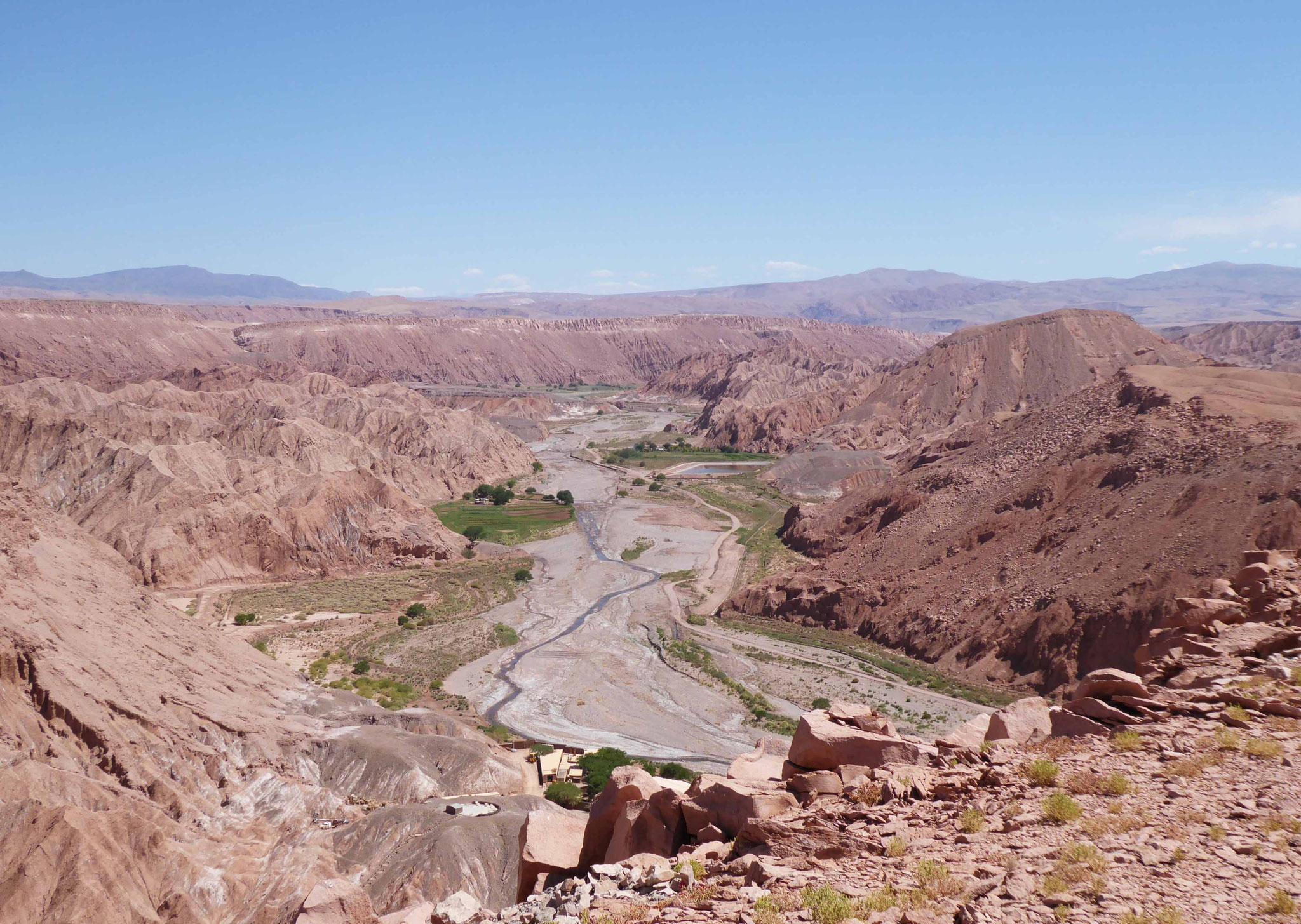 Vue sur la vallée de Catarpe