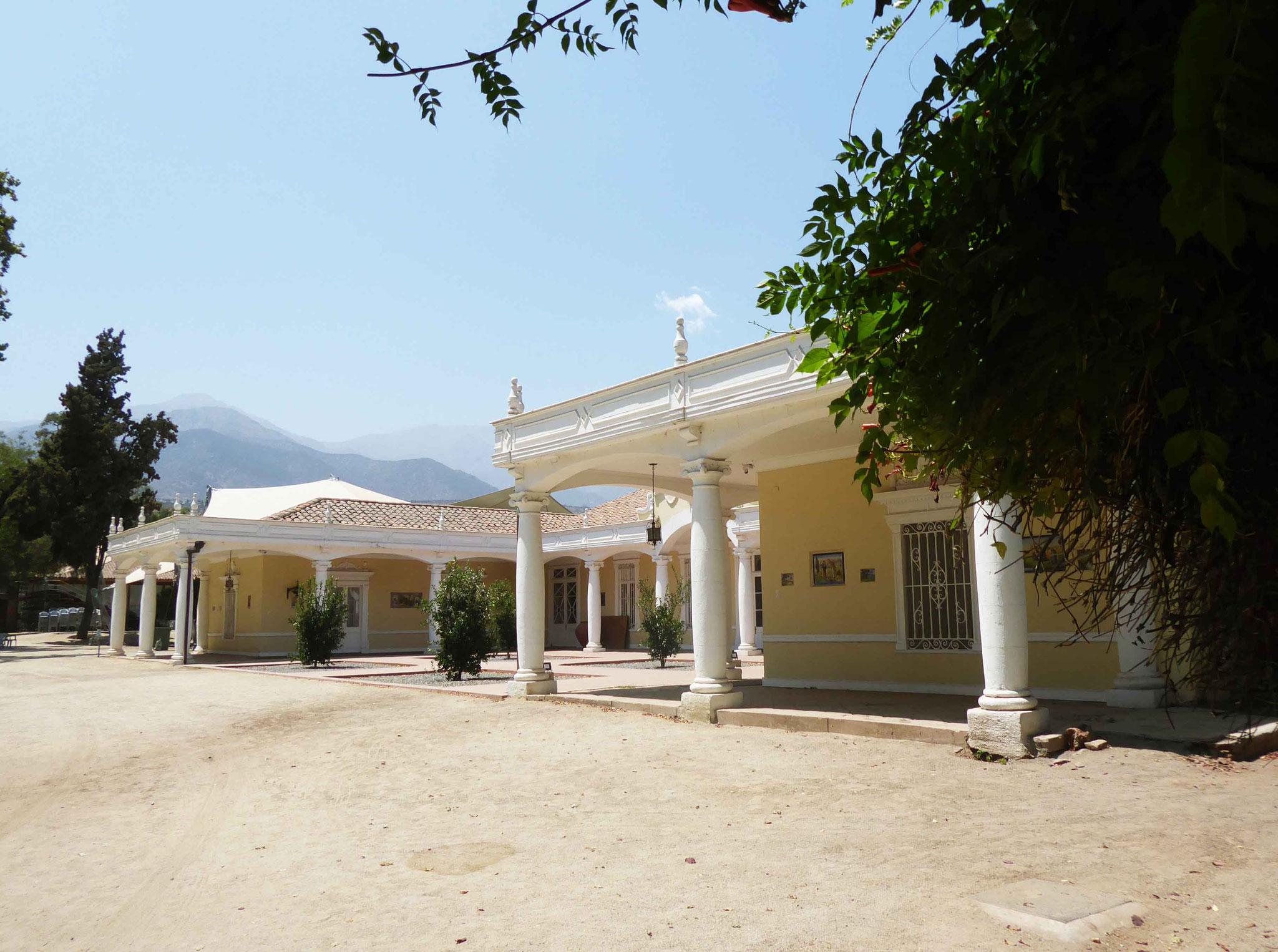 Casa Santa Rosa de Apoquindo, musée et centre culturel de Las Condes