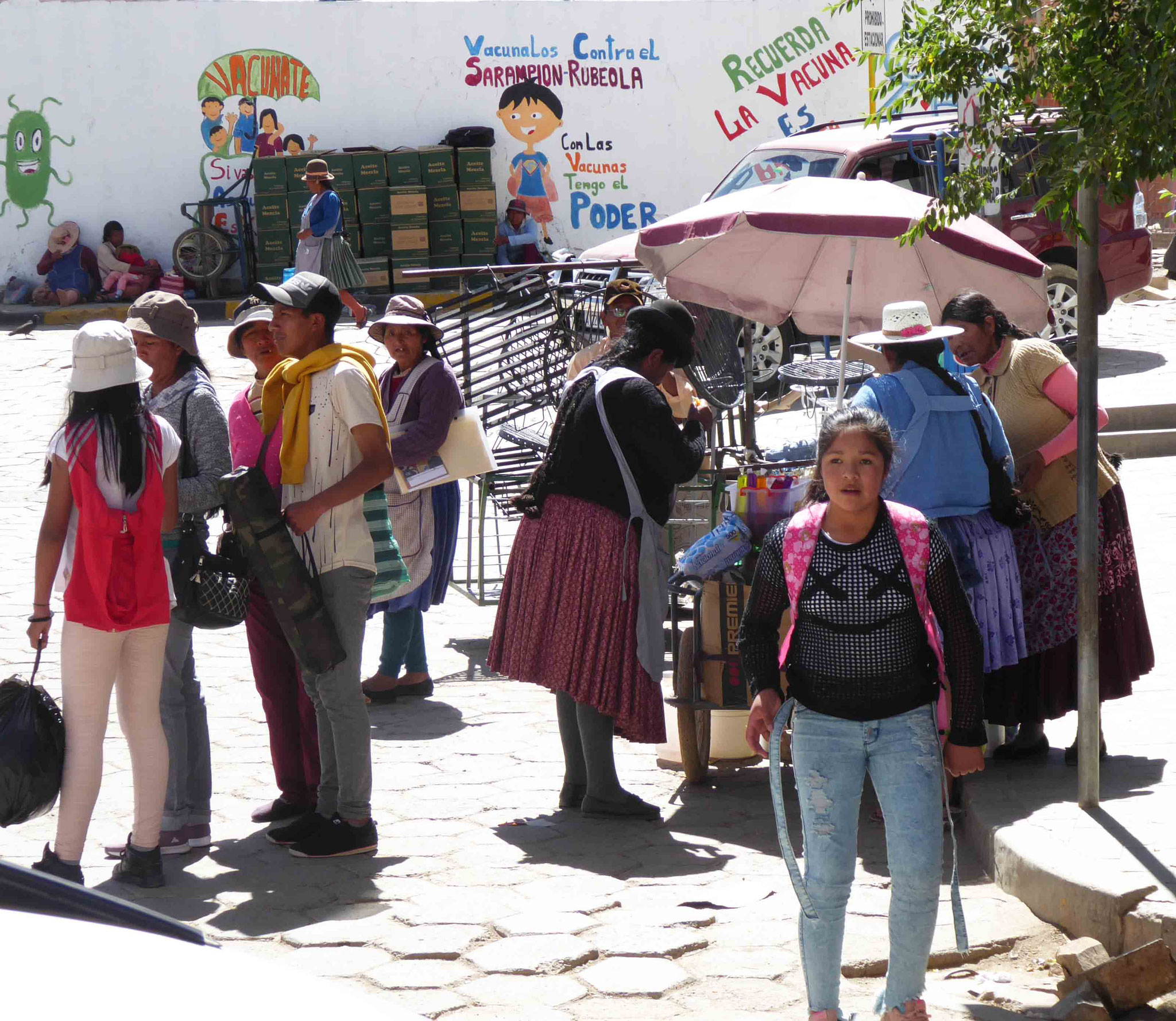 ... juste avant La Quiaca, la frontière bolivienne
