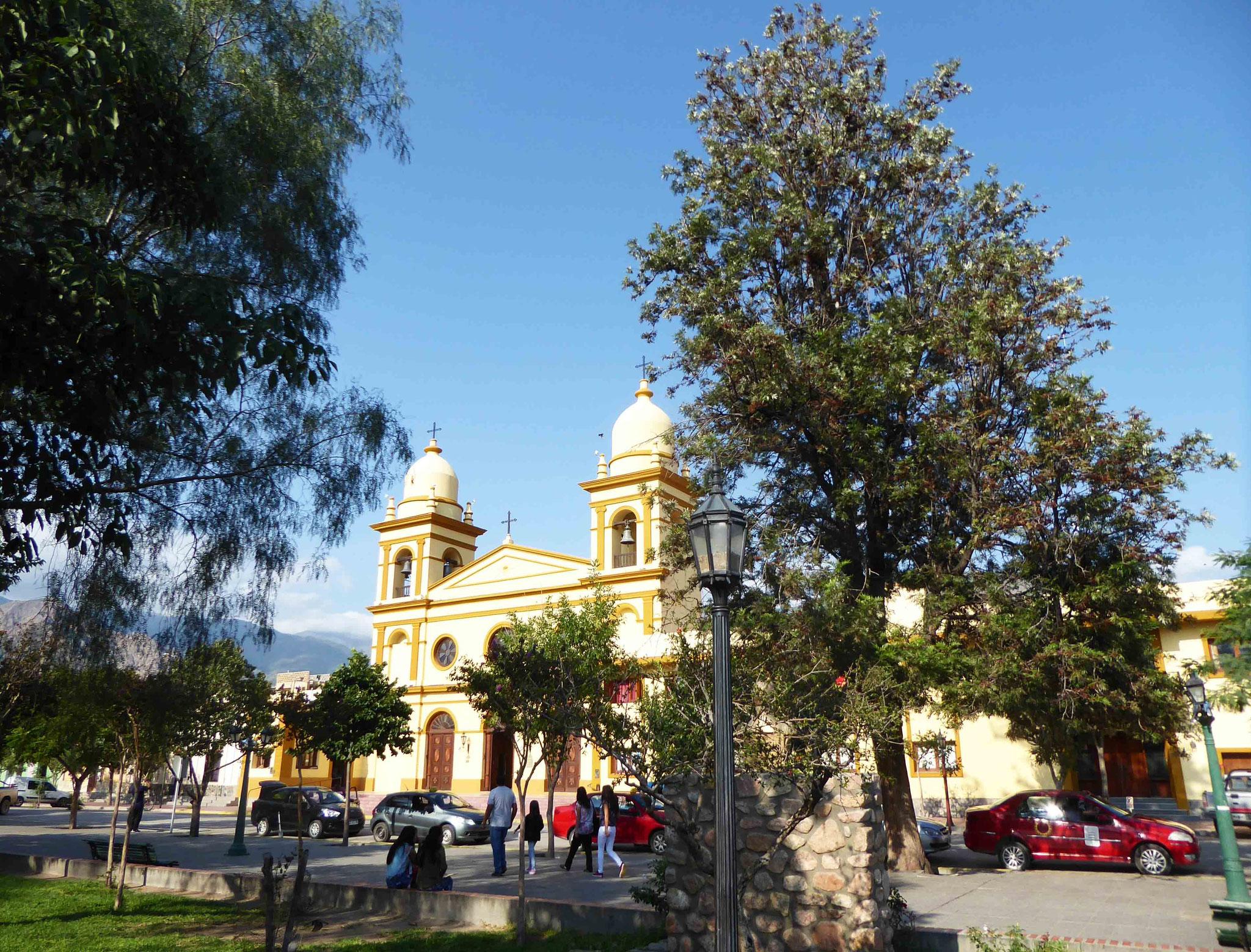 La cathédrale de Cafayate