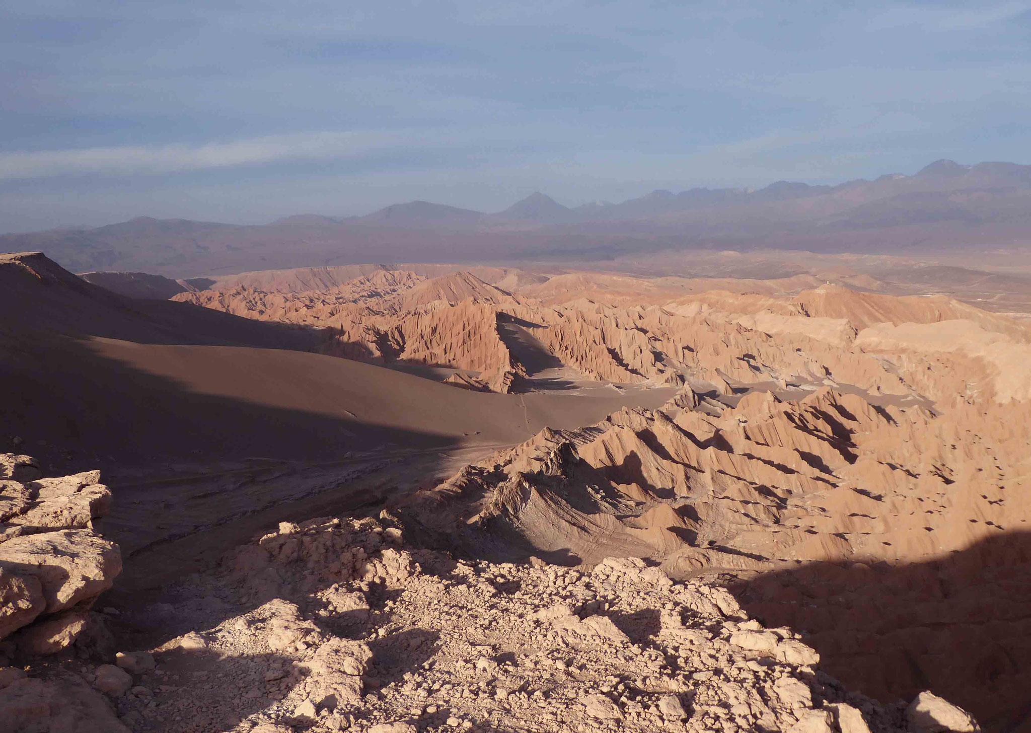 Vallée remarquable... de la Muerte (appelée autrefois vallée de Mars)