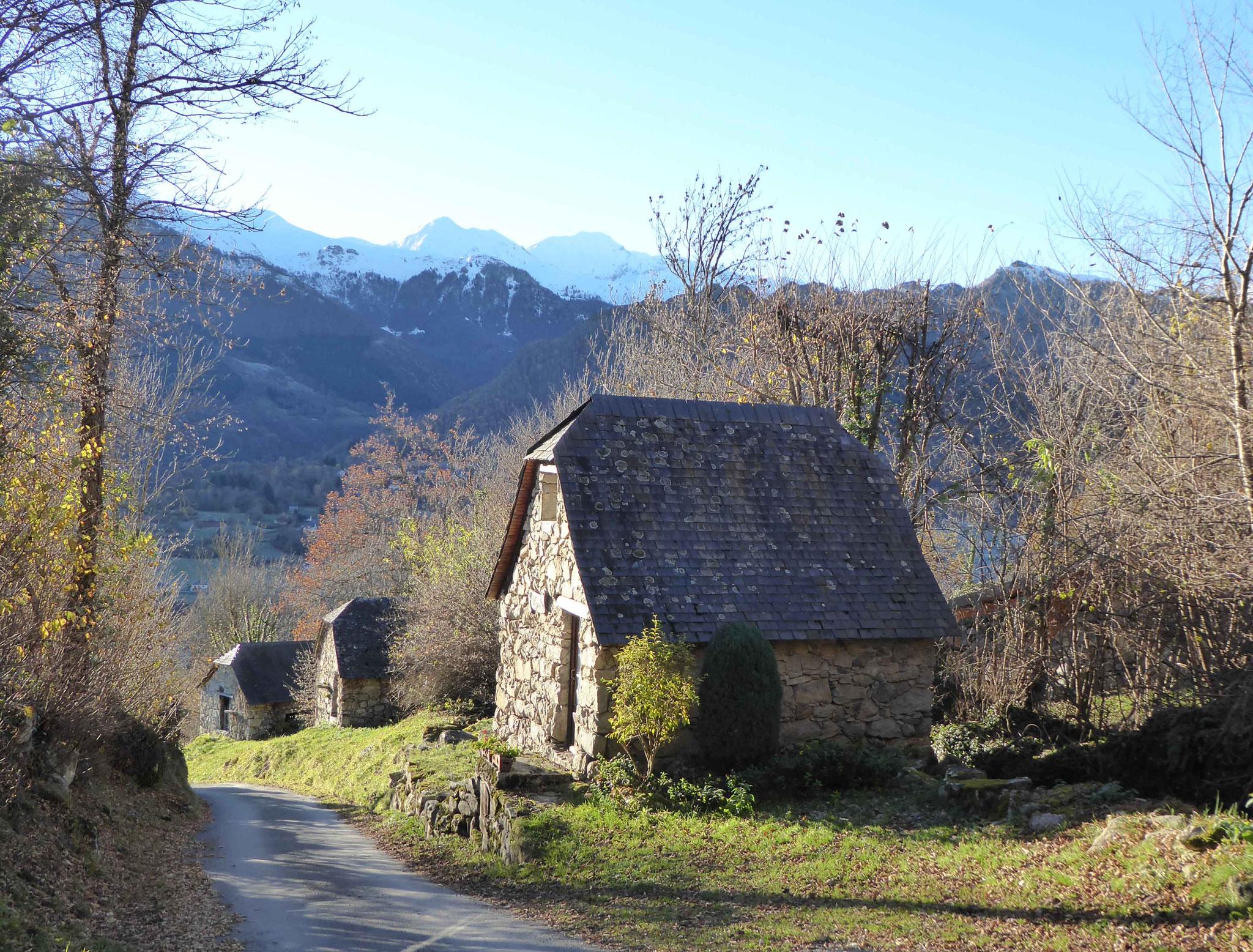 Au départ, les beaux moulins d'Arcizans-Dessus
