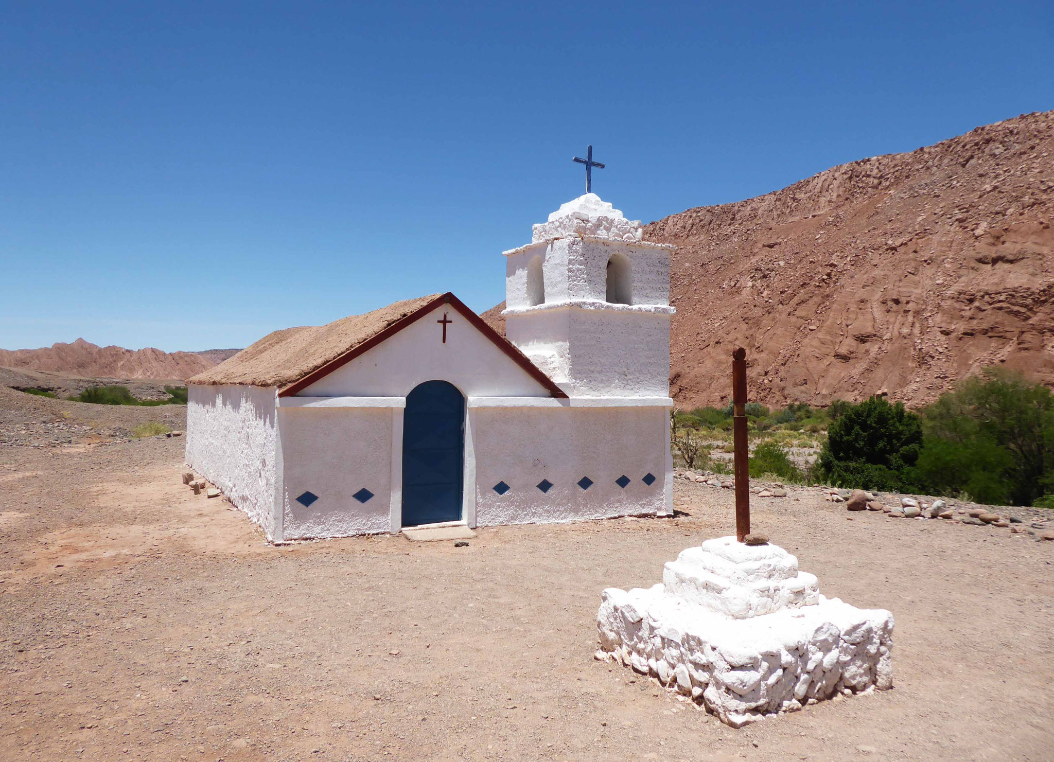Chapelle San Isidro vers la quebrada Cuchabrache