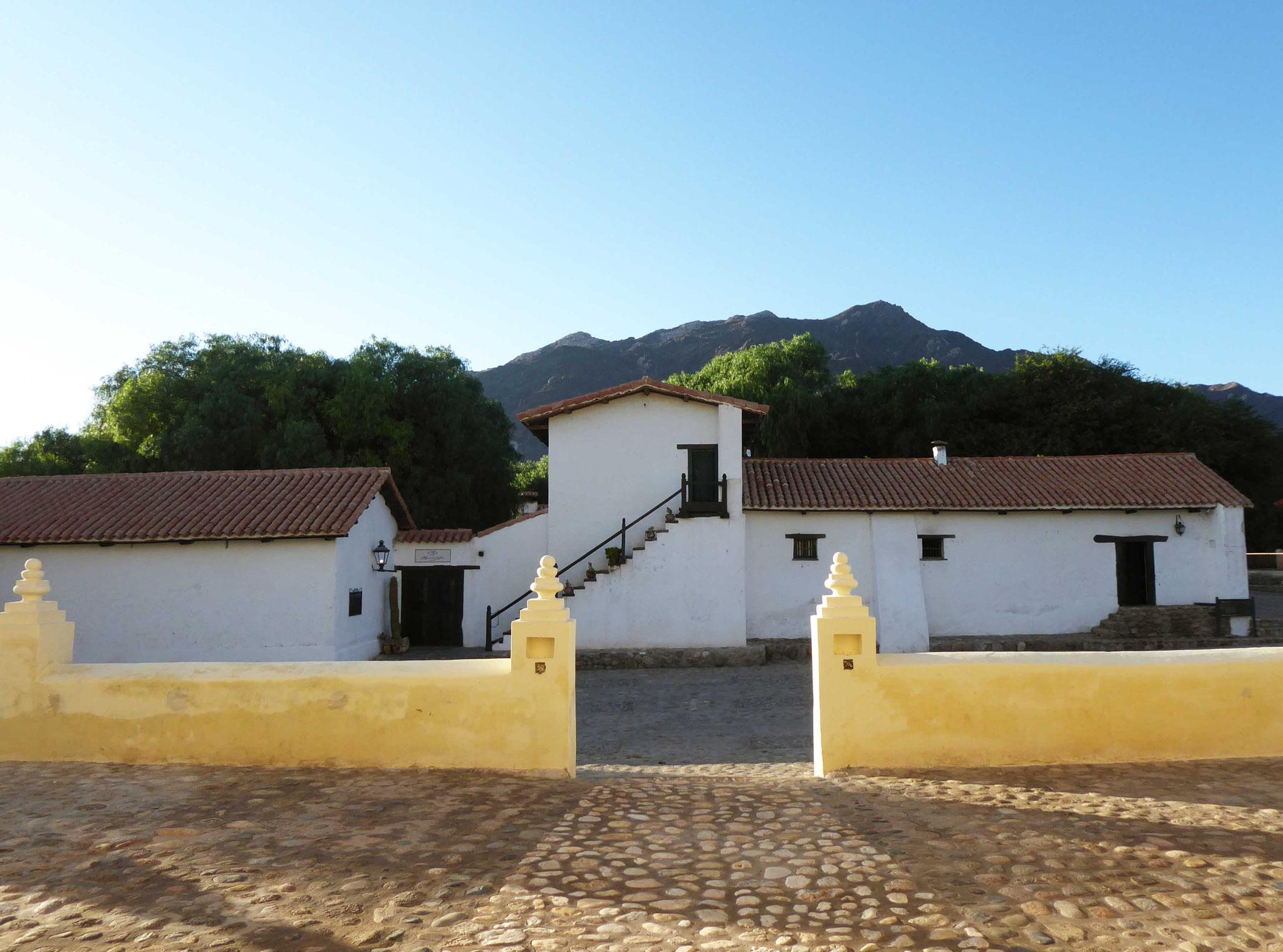 L'hacienda Isasmendy dont les origines datent du XVIIe siècle...