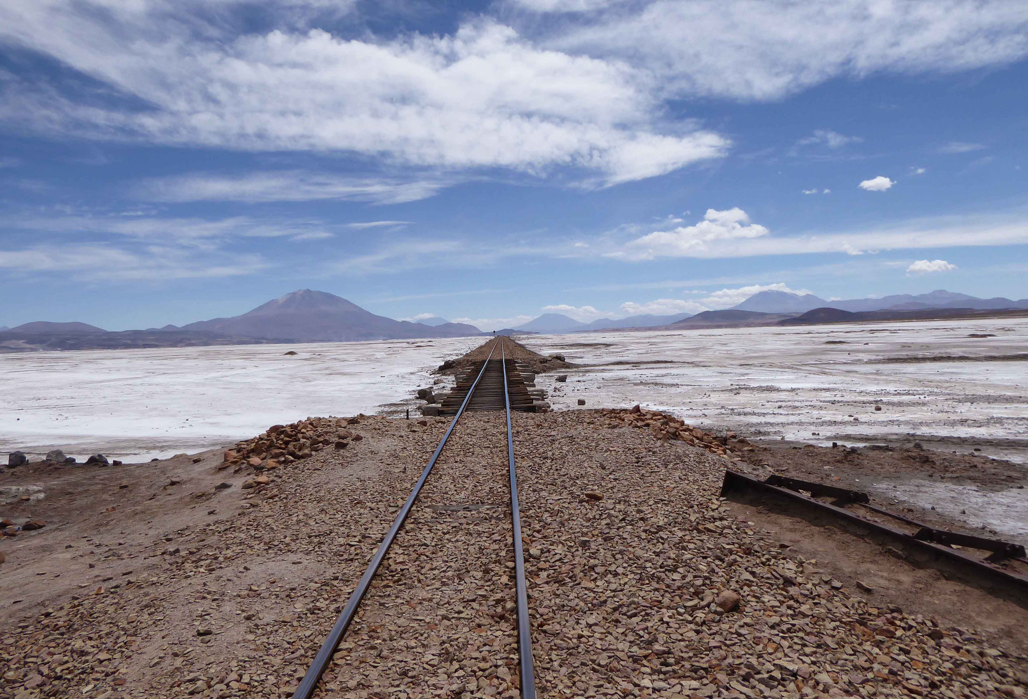 Ce fut le rail de transport du sel