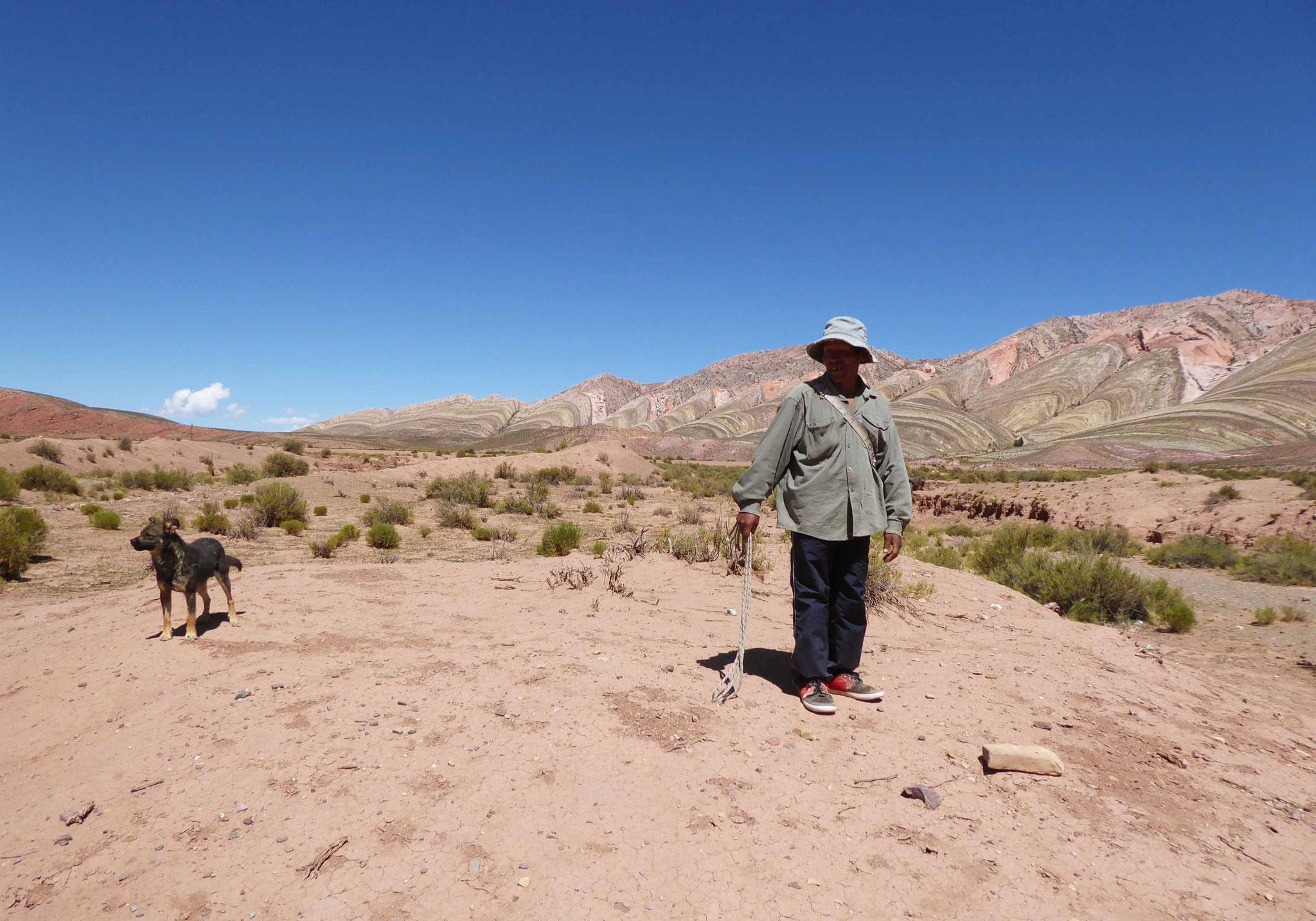 Au milieu de nulle part... un berger en quête de son troupeau de chèvres