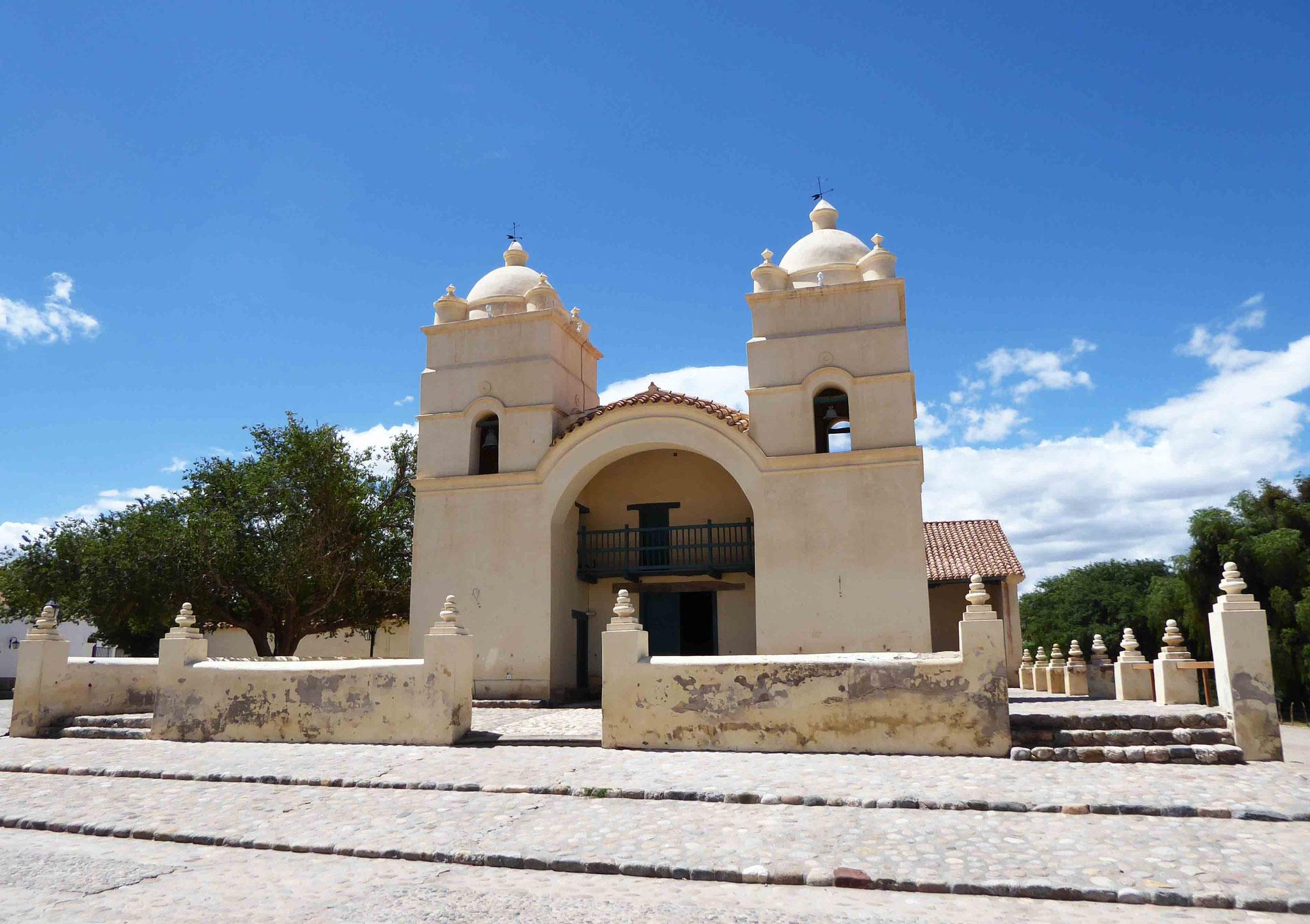 Eglise San Pedro de Nolasco à Molinos