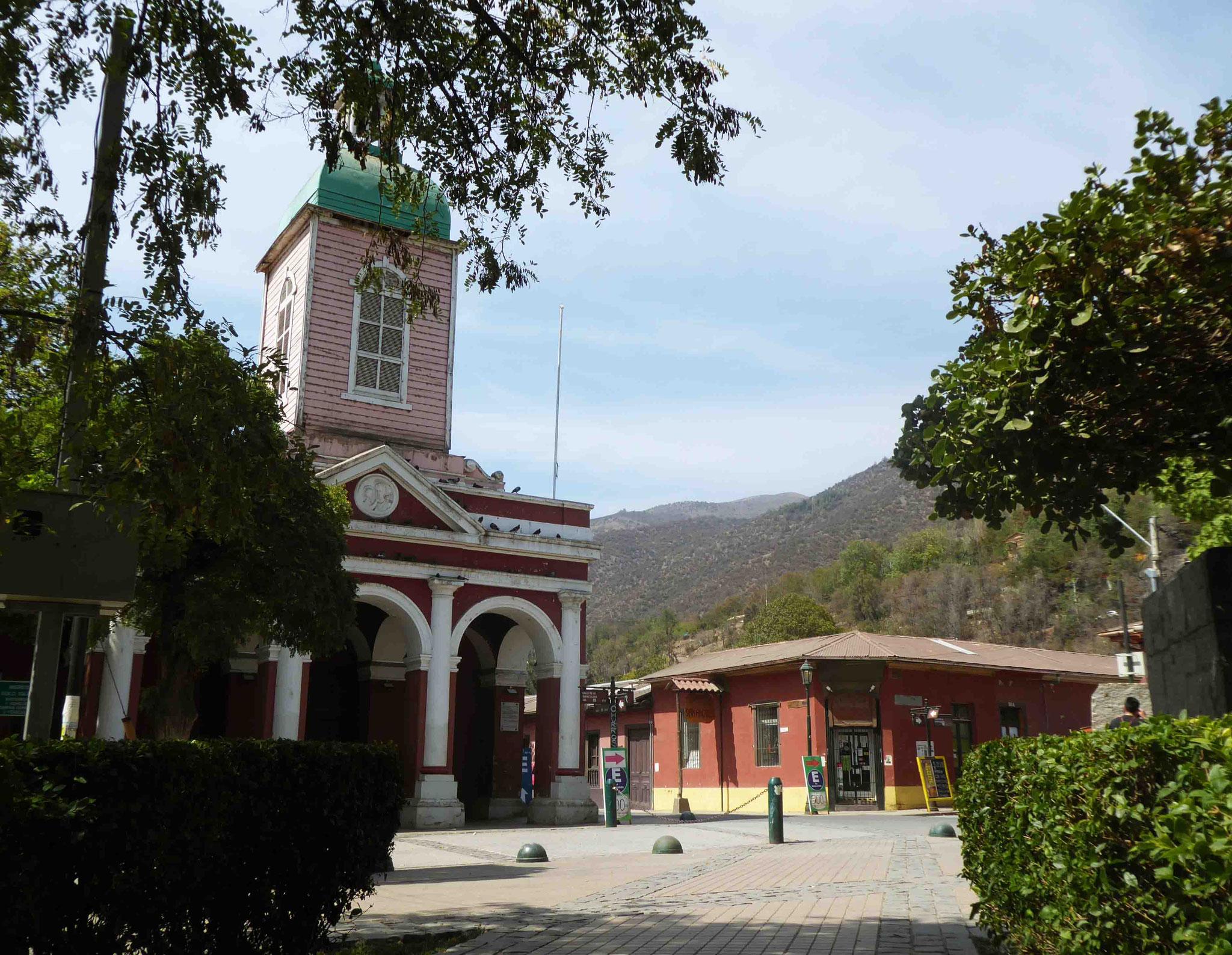 Eglise de la Place d'Armes de San José de Maipo