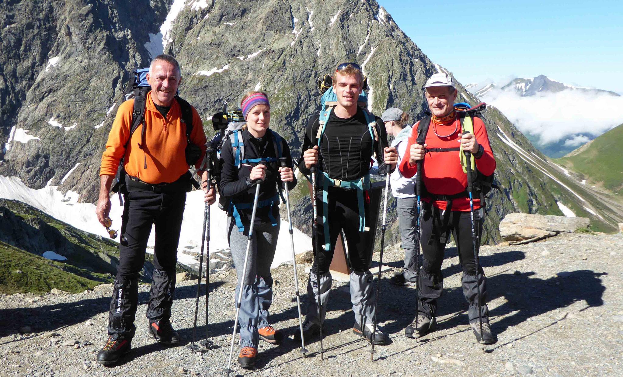 2372 m au départ du Nid d'Aigle