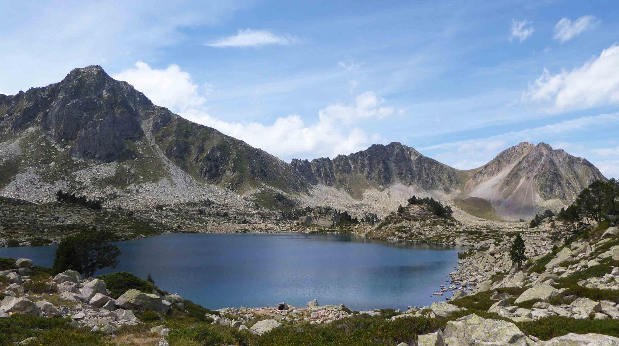 Le lac Nère d'origine glaciaire