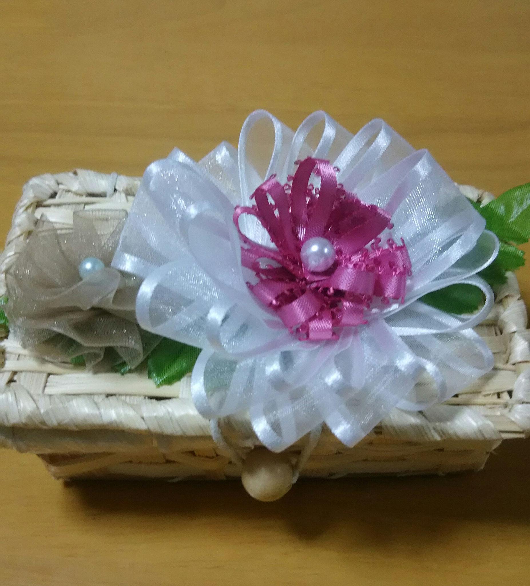 お花小物入れ ¥500