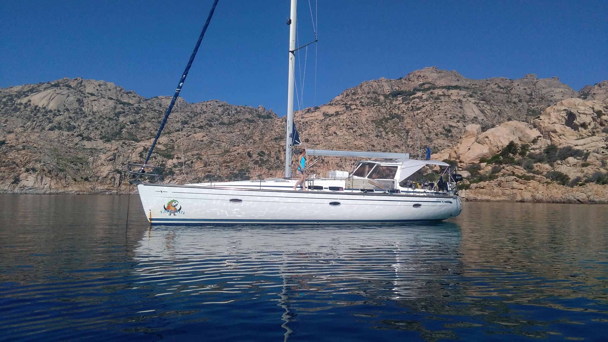 mitsegeln Sardinien und Korsika, die Jojo mit neuem Biminitop