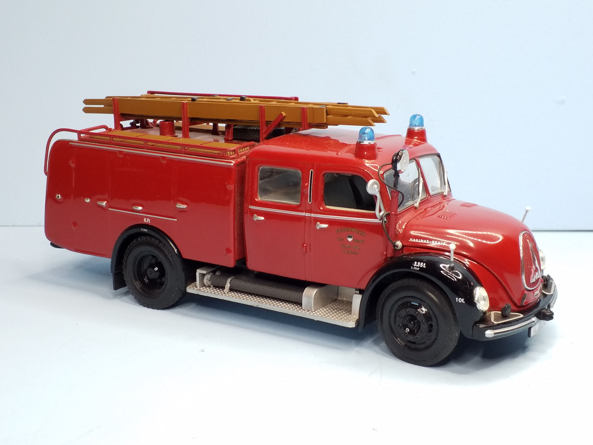 Minichamp Magirus in OVP 40,-€