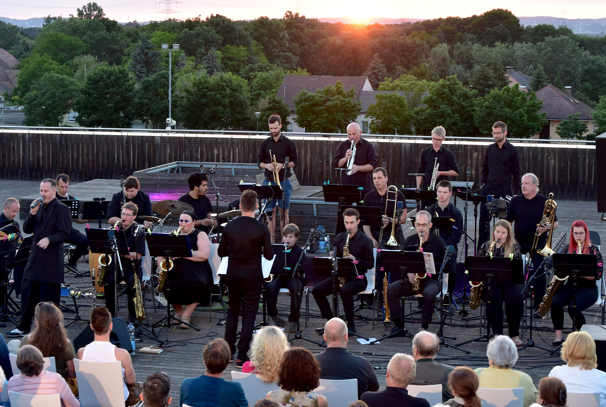 The Big Band Deutsch-Wagram - Musik unter Sternen 2019