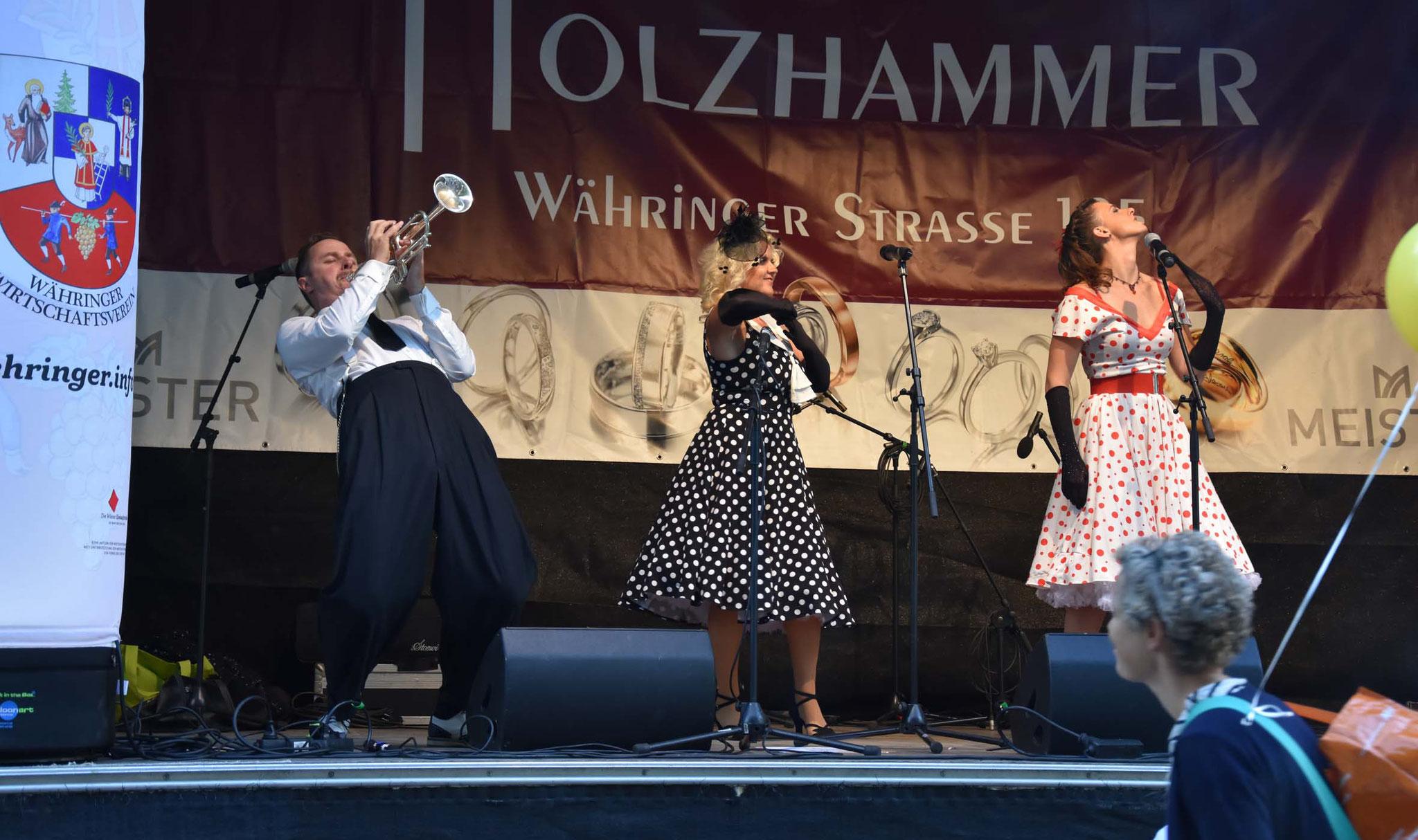 The Swingaroos & The Pocket Big Band - Währing - September 2016