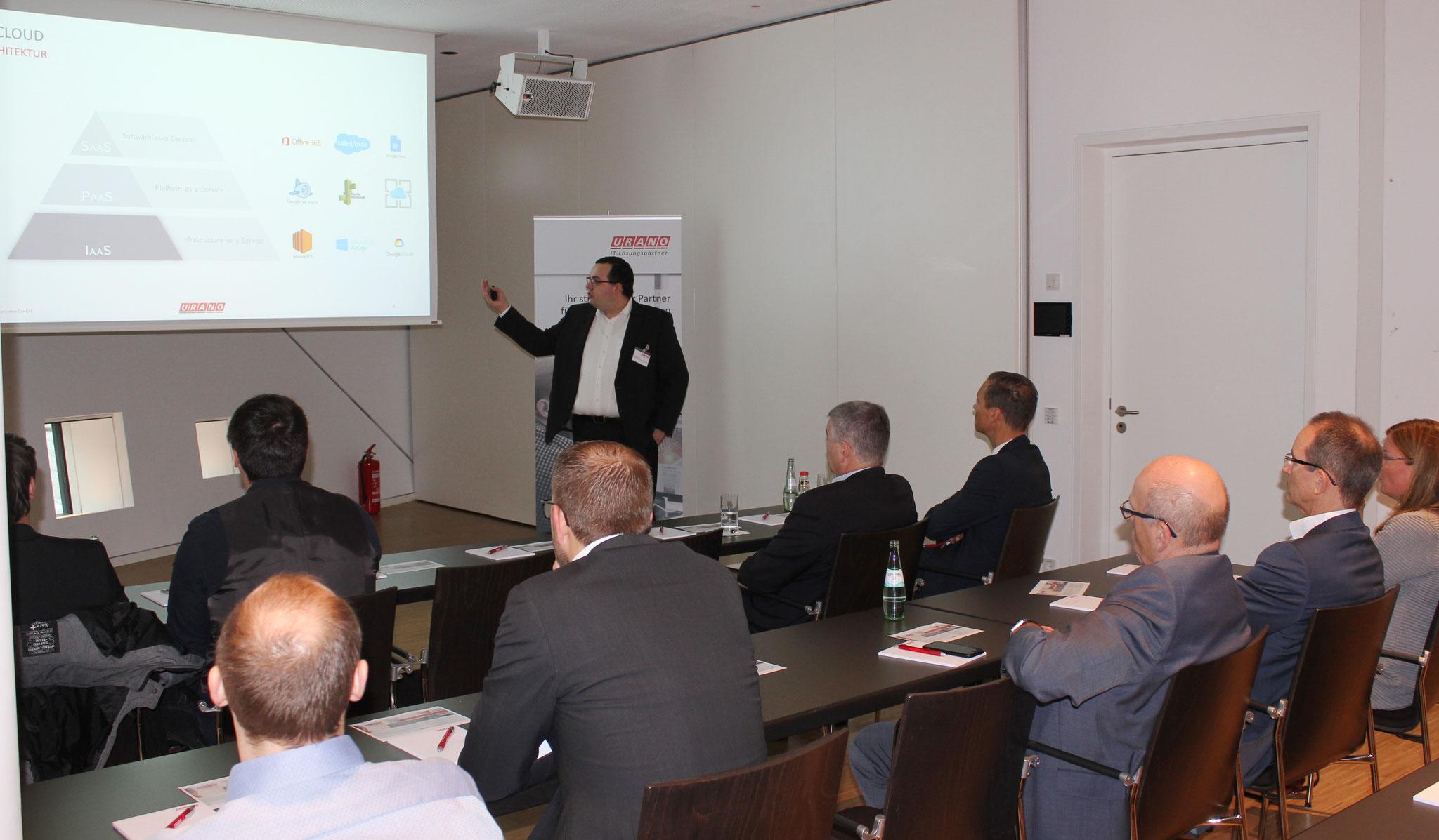 Tobias Ebbeke, Leiter Cloud Services bei URANO