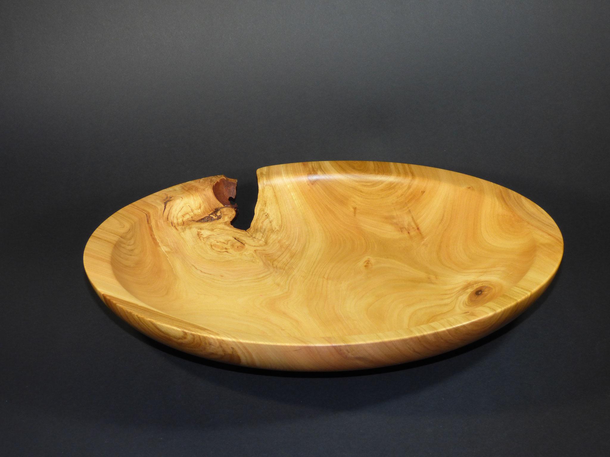 Wildkirschen Holz Schale