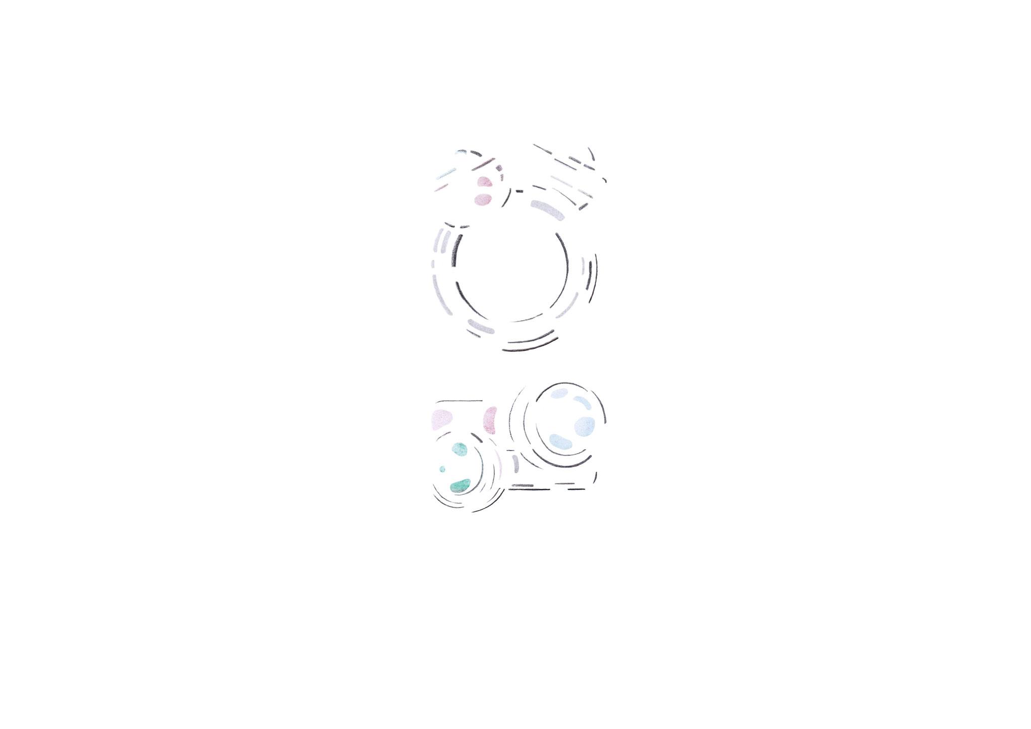 Verfolgen Sie wie unsere neue Schmucklinie Kugelkollektion entsteht  -  Skizze Nr. 3 / 14