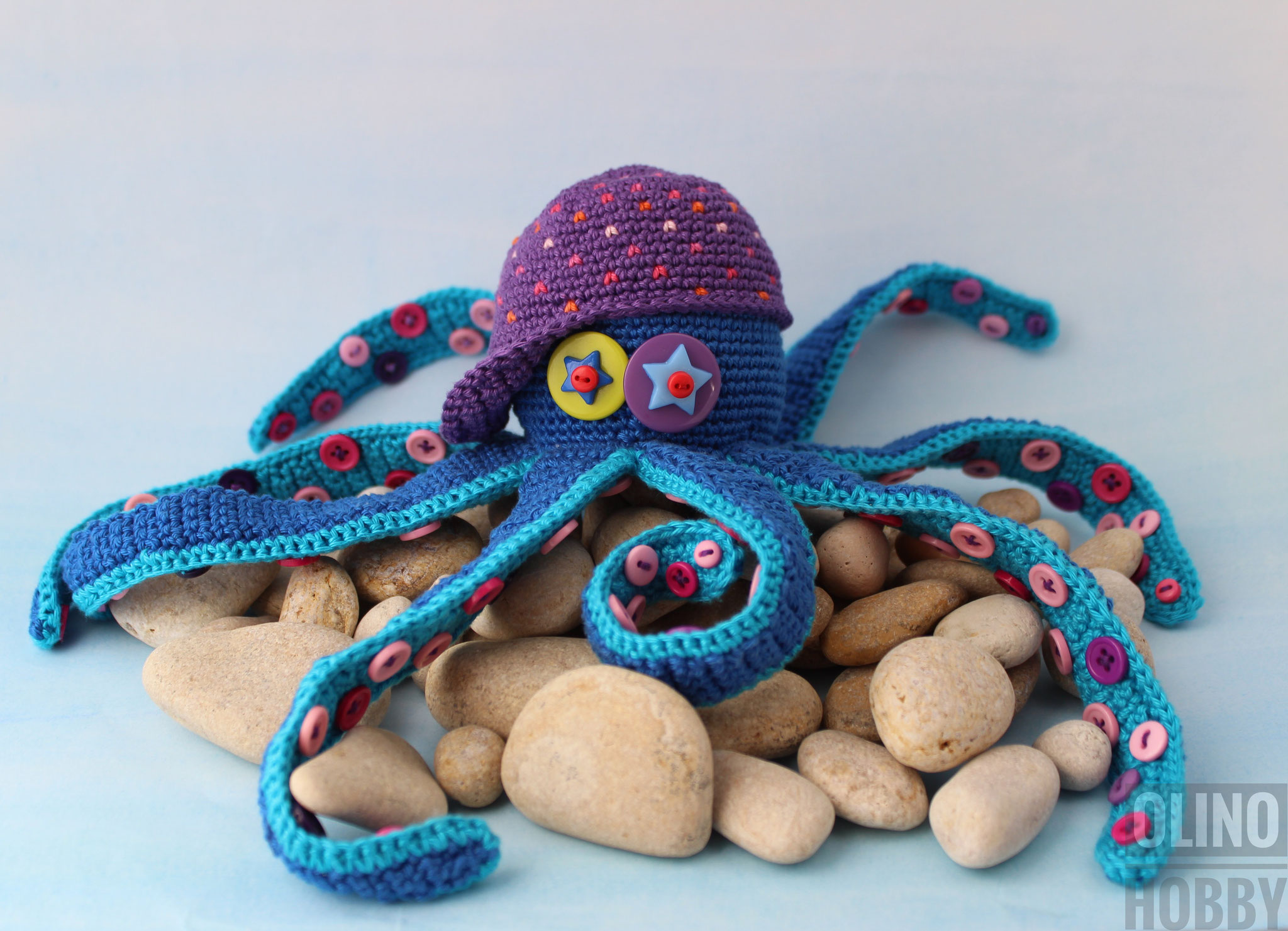 Octopus Crochet Pattern $4.99