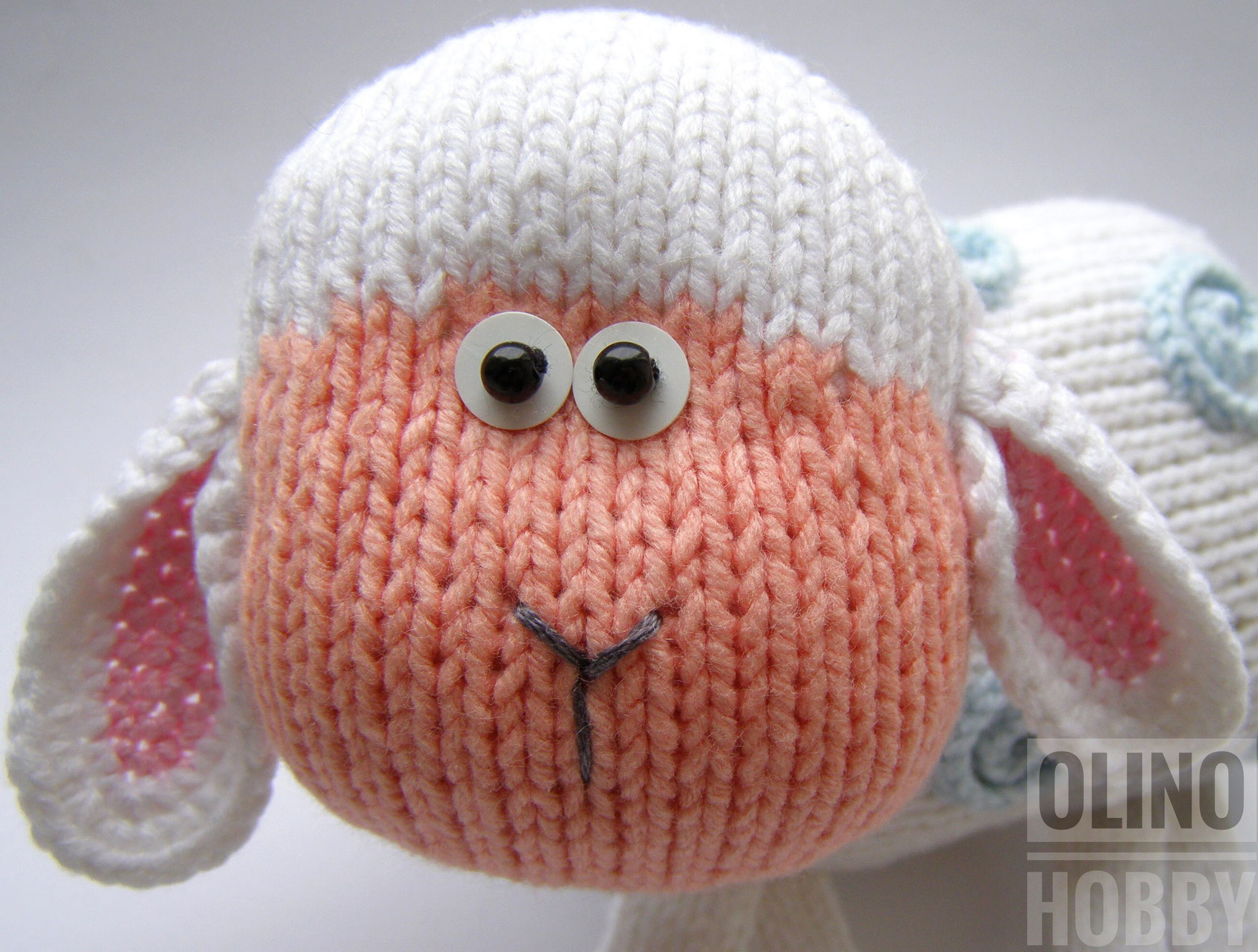 Knitting pattern Lamb $4.99