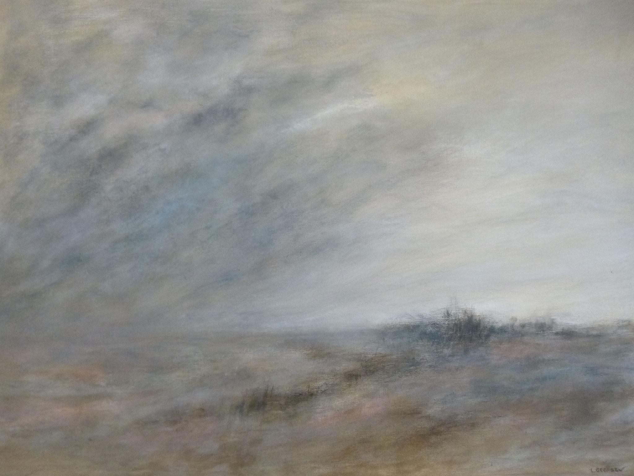 ÉCLAIRCIE, acrylique sur toile, 60x80 cm