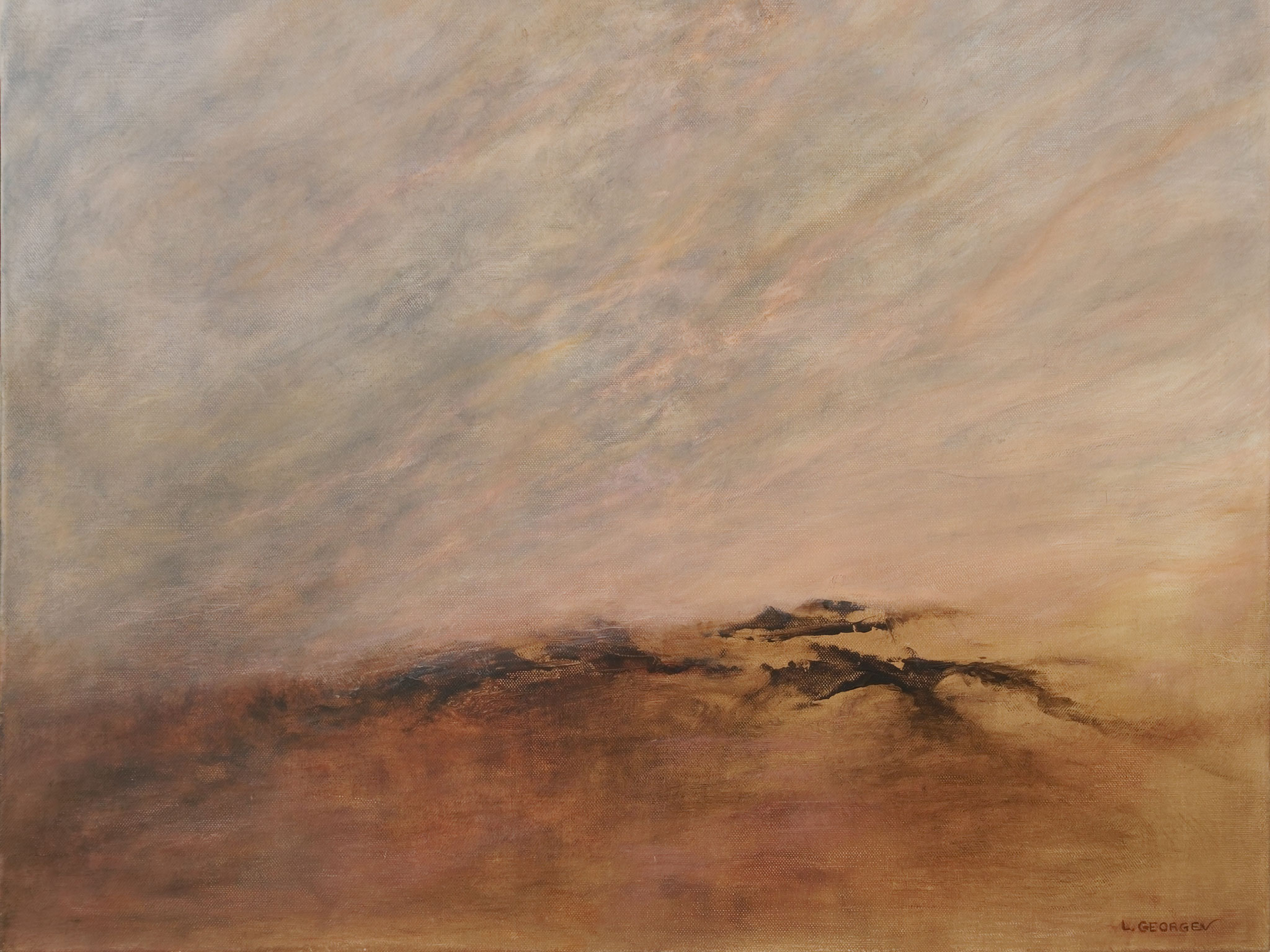 VASTITUDE, acrylique sur toile, 60x73 cm